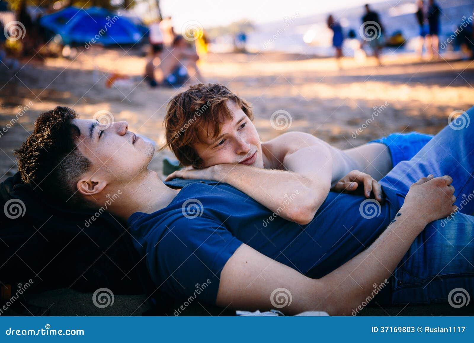 Kochająca homoseksualna para