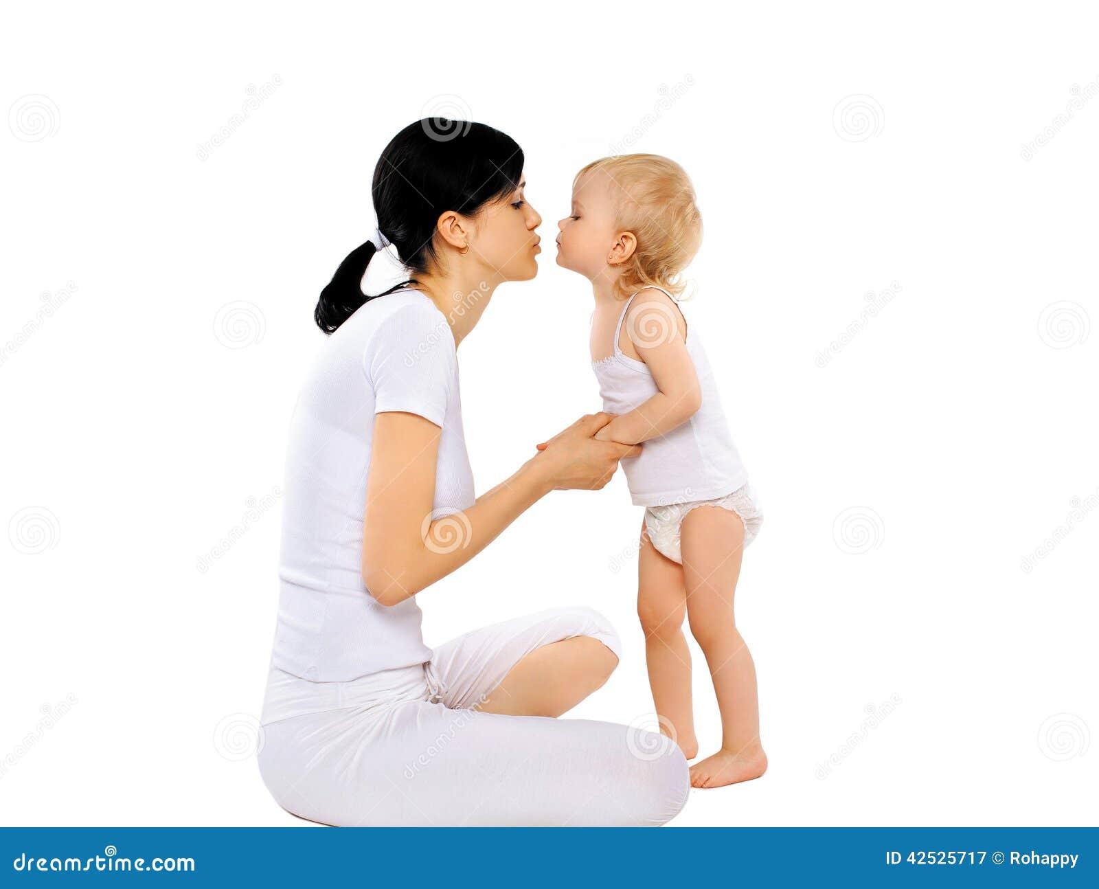 Kochająca matka córkę