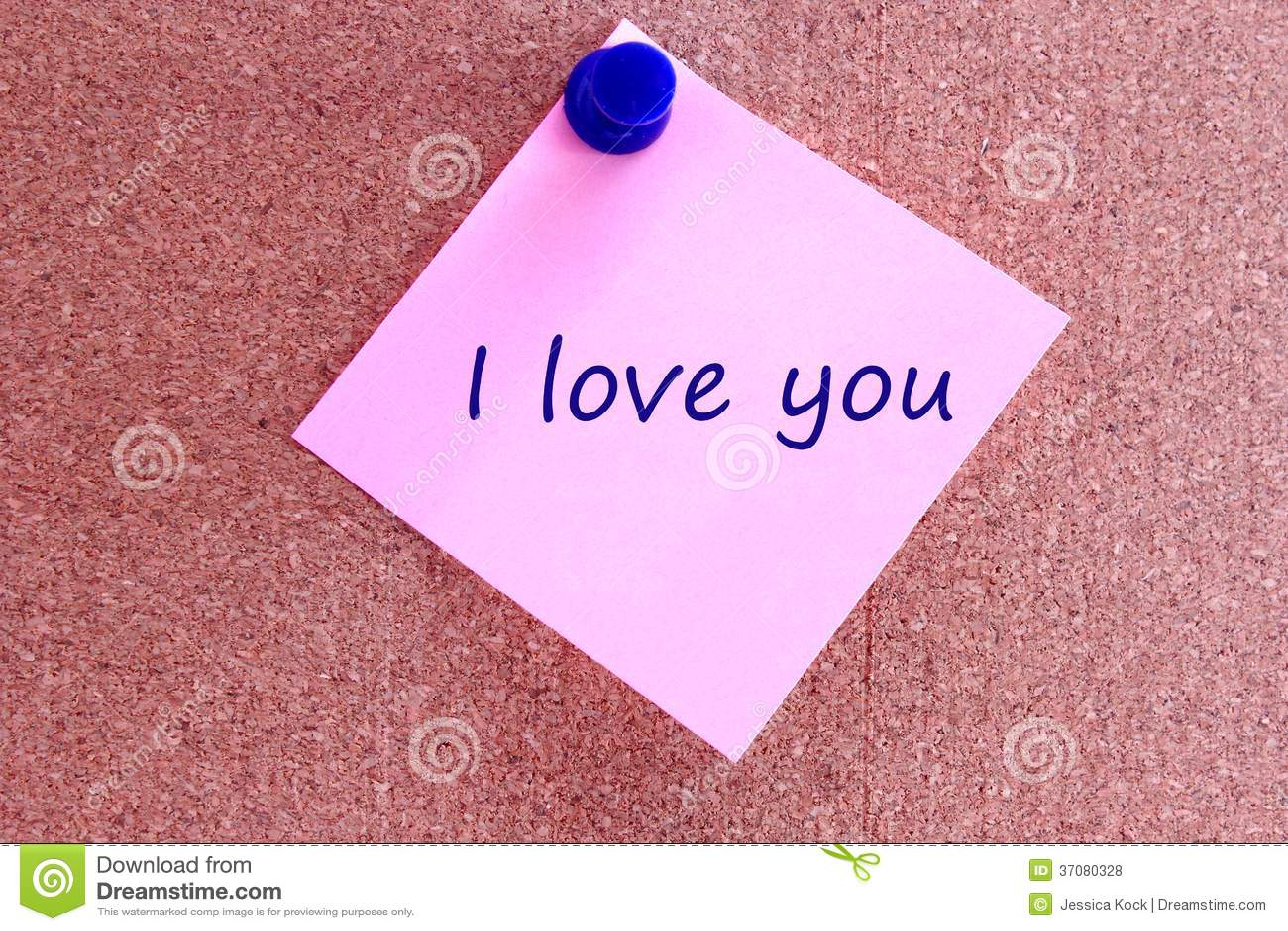 Download Kocham ciebie zdjęcie stock. Obraz złożonej z igła, biuletyn - 37080328