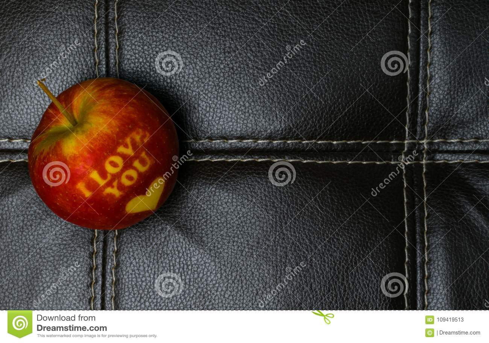 Kocham ciebie jabłczanego