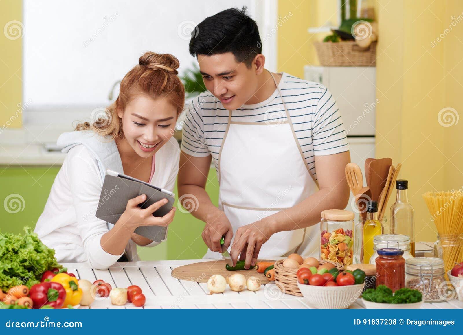 Kochen von Paaren