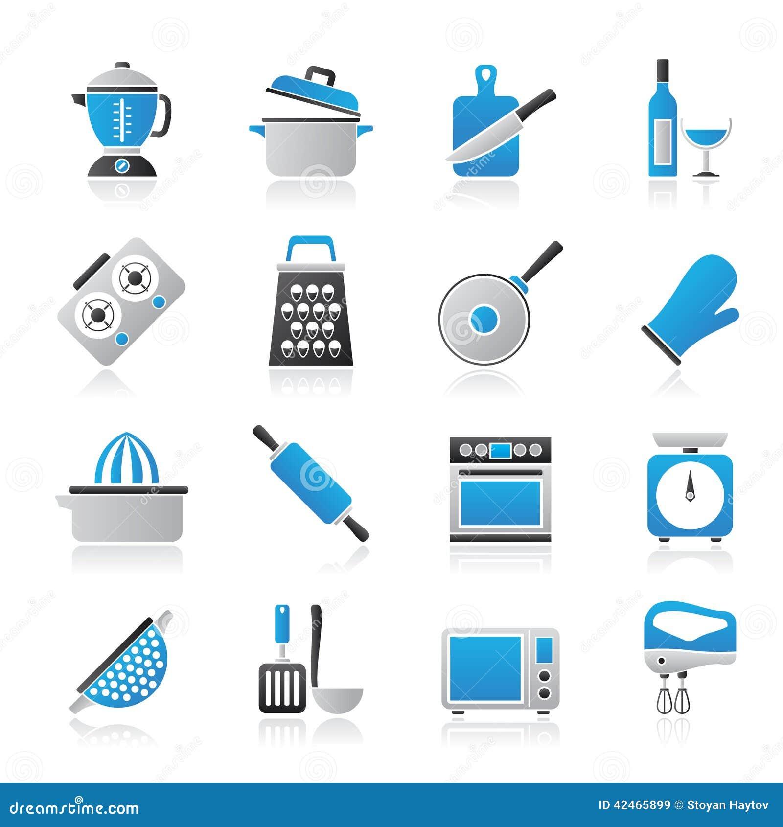 Kochen von Werkzeugikonen