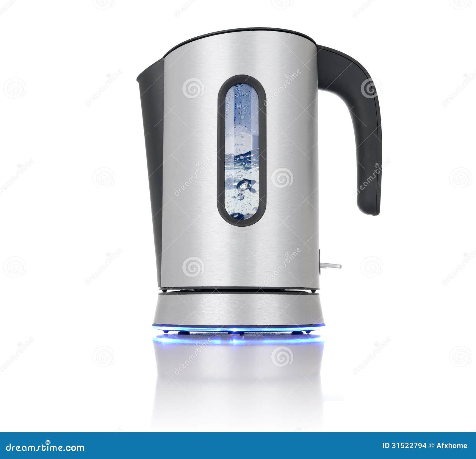Moderne Wasserkocher kochender moderner wasserkocher stockfoto bild stahl