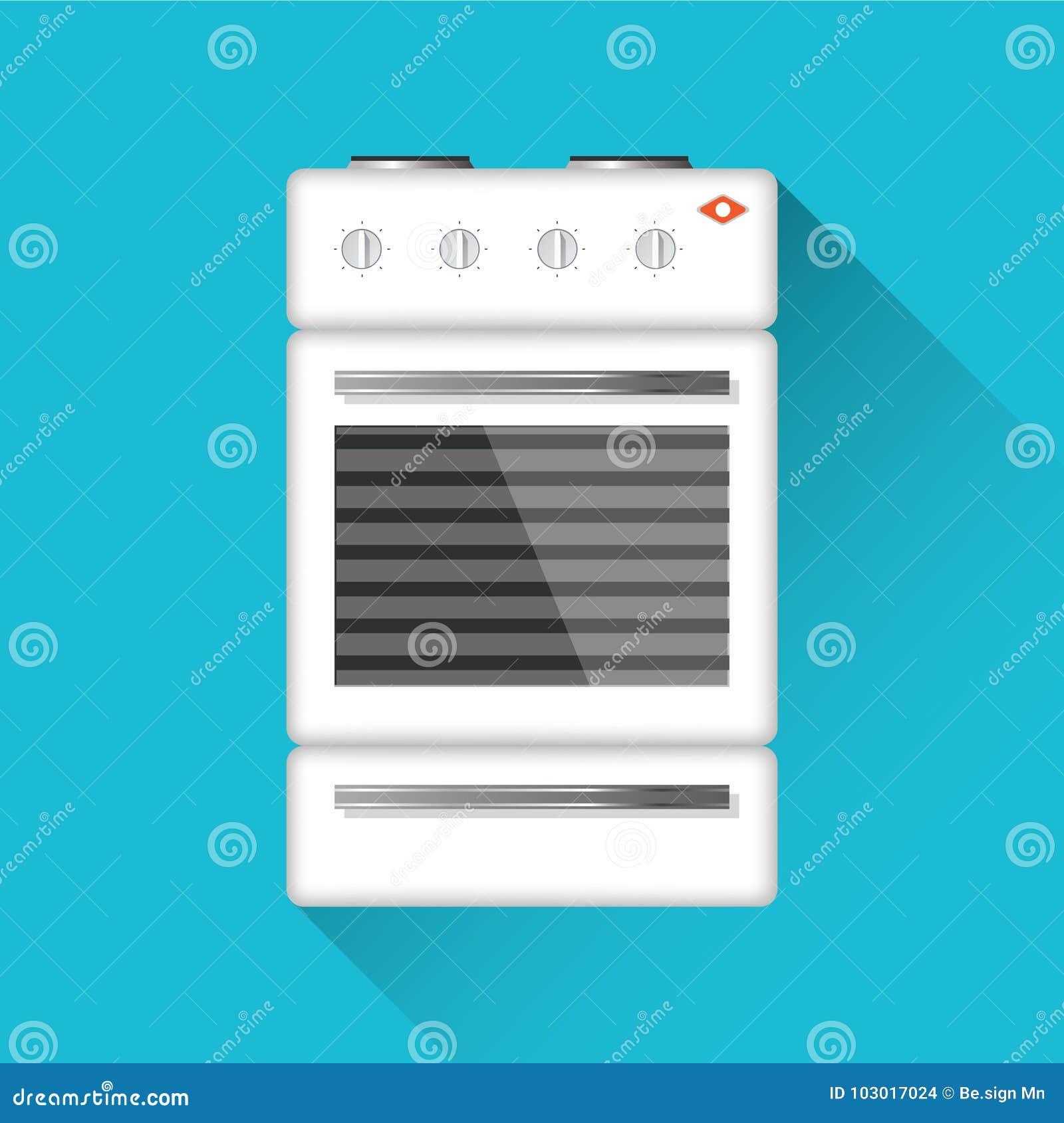 Kocher Flaches Design Auch im corel abgehobenen Betrag Kochgerät Küchenmaterial