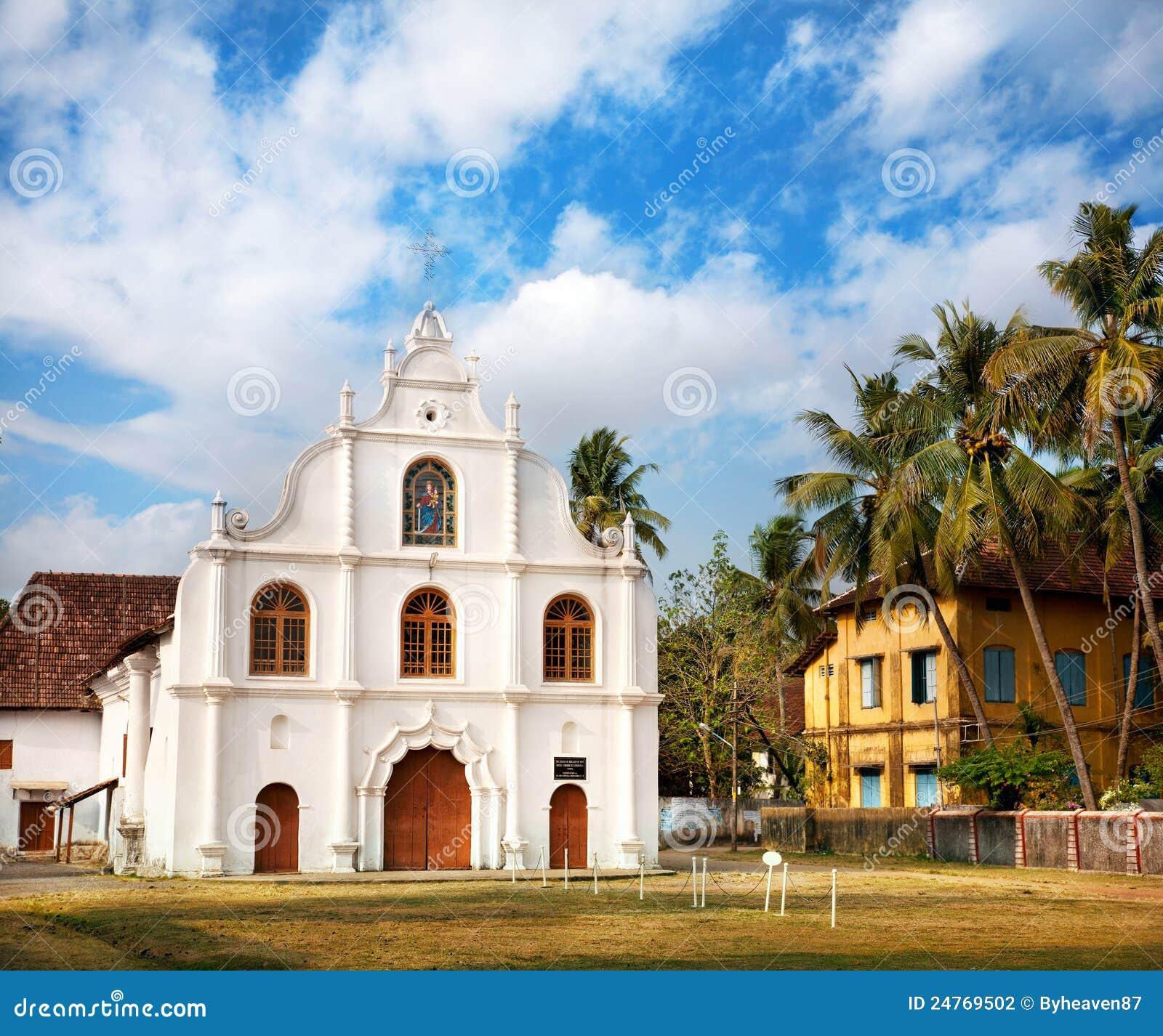 Kochi kościelny kolonialny portuguese