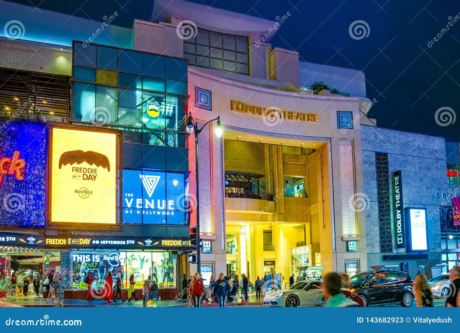 Kodaka teatru Dolby dok?d roczna nagroda filmowa przedstawia
