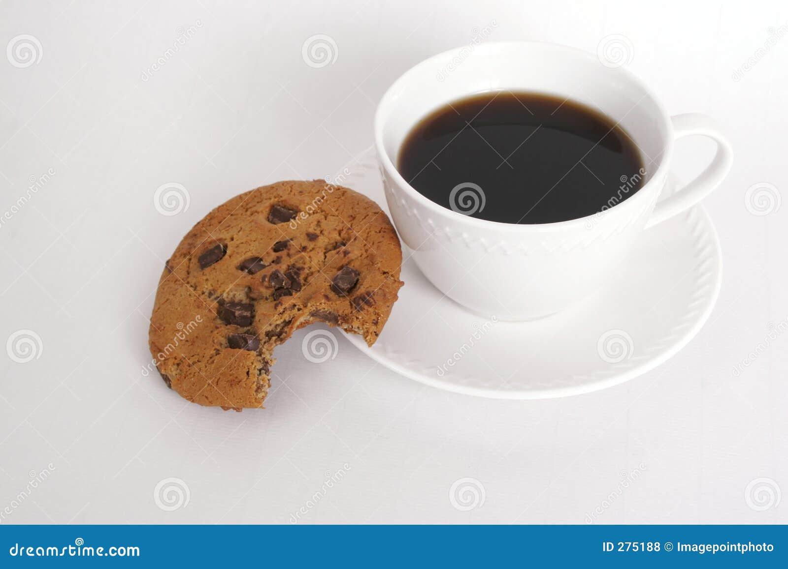 Koekje en koffie