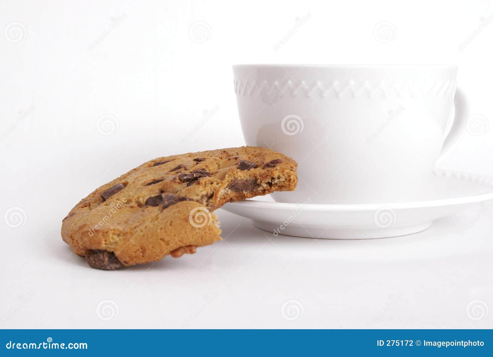 Koekje met koffie