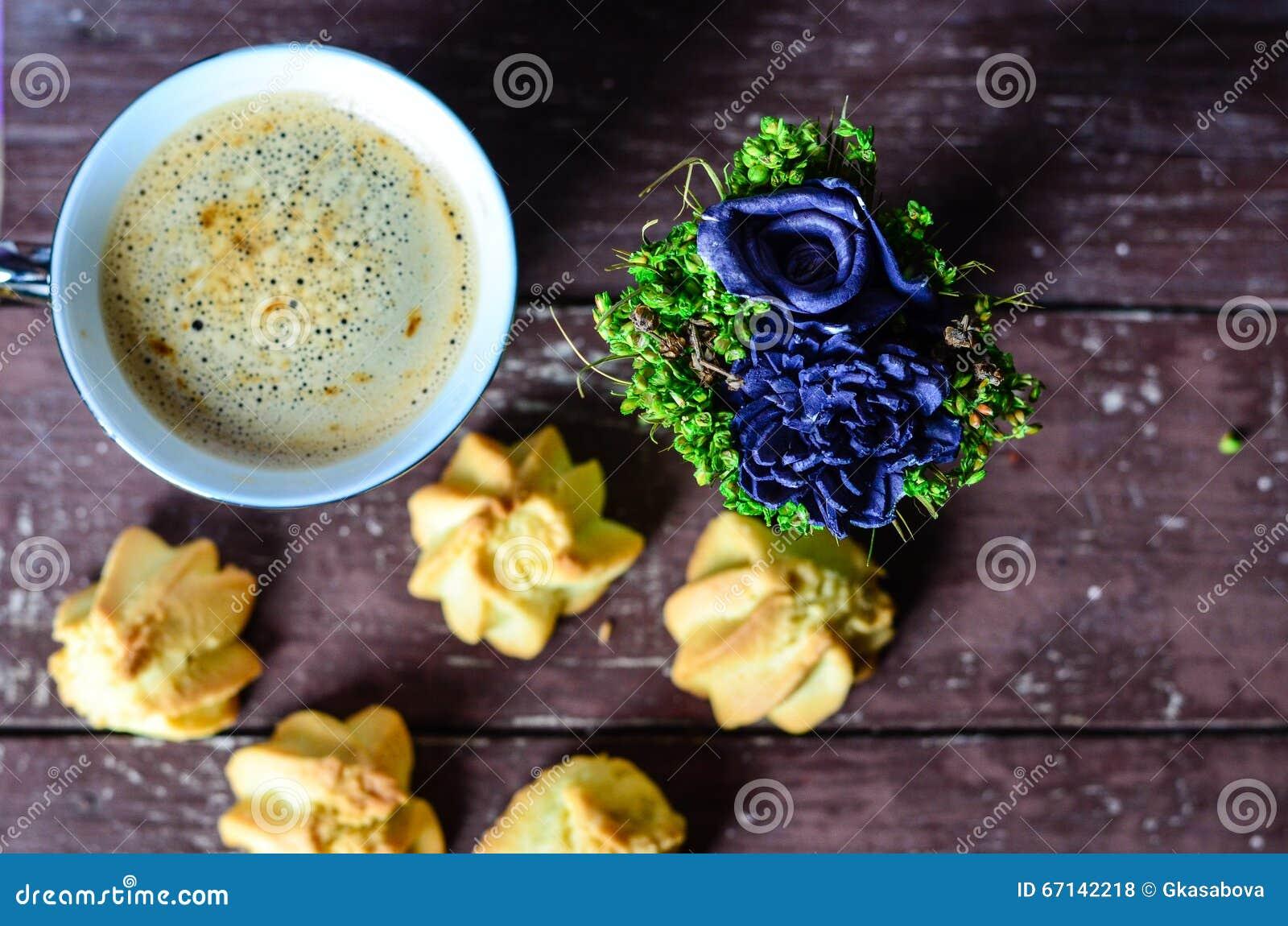 Koekjes en koffie