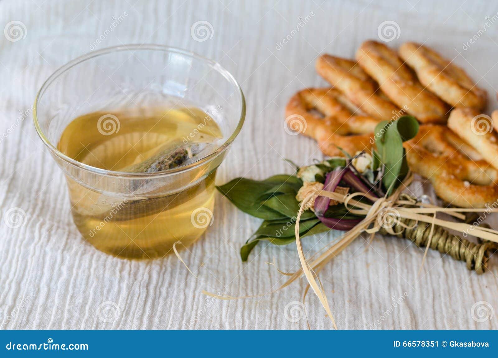 Koekjes en thee
