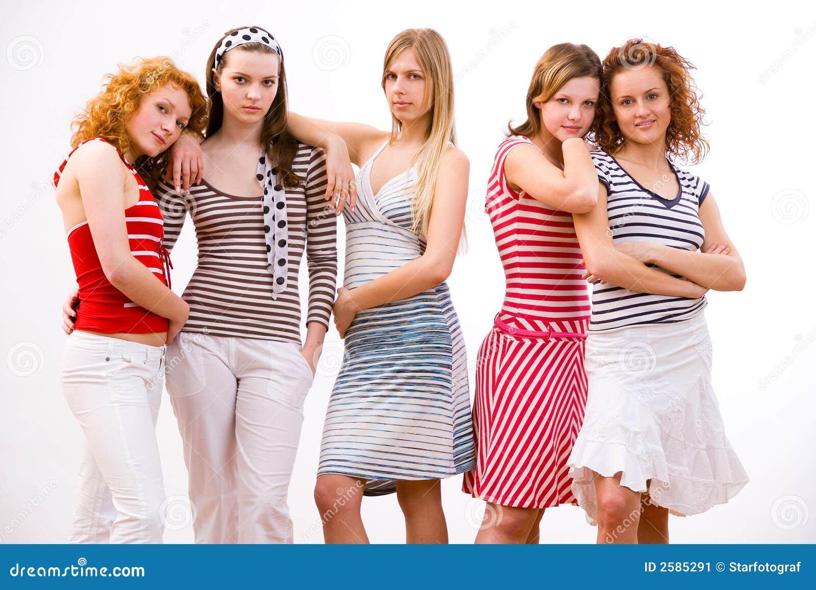 Koele meisjes
