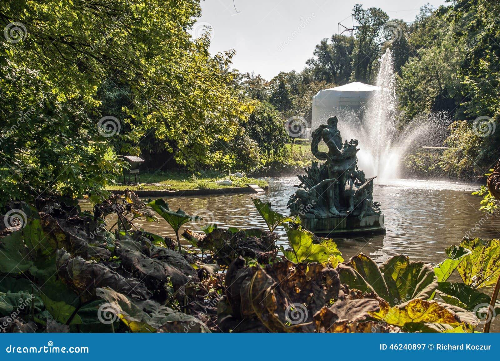 Koenigs Astrid Park på Brugge, Belgien