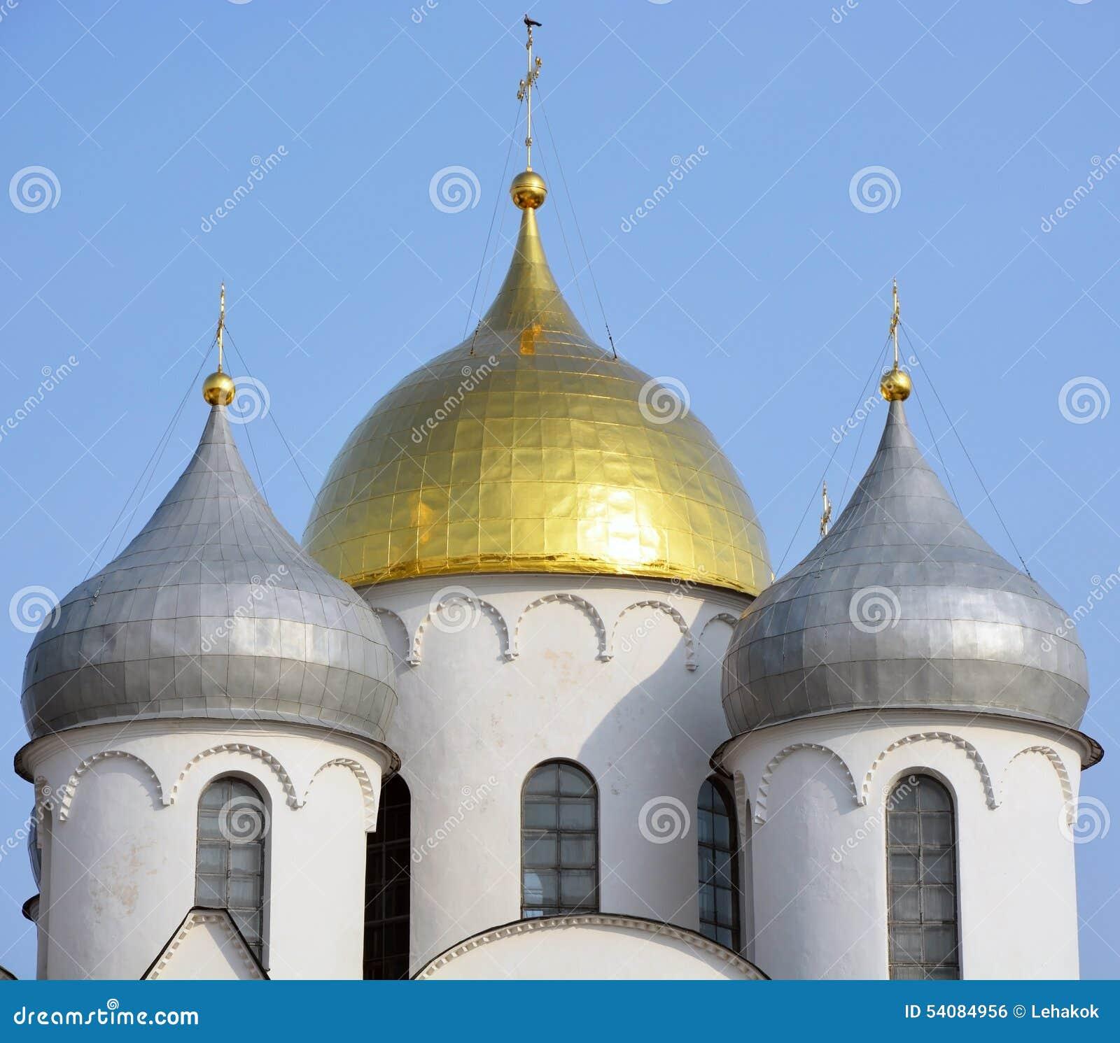 Koepel van de St Sofia kathedraal
