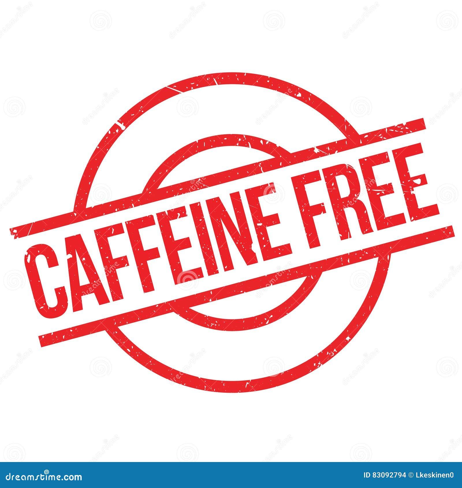 Koffein frigör stämpeln