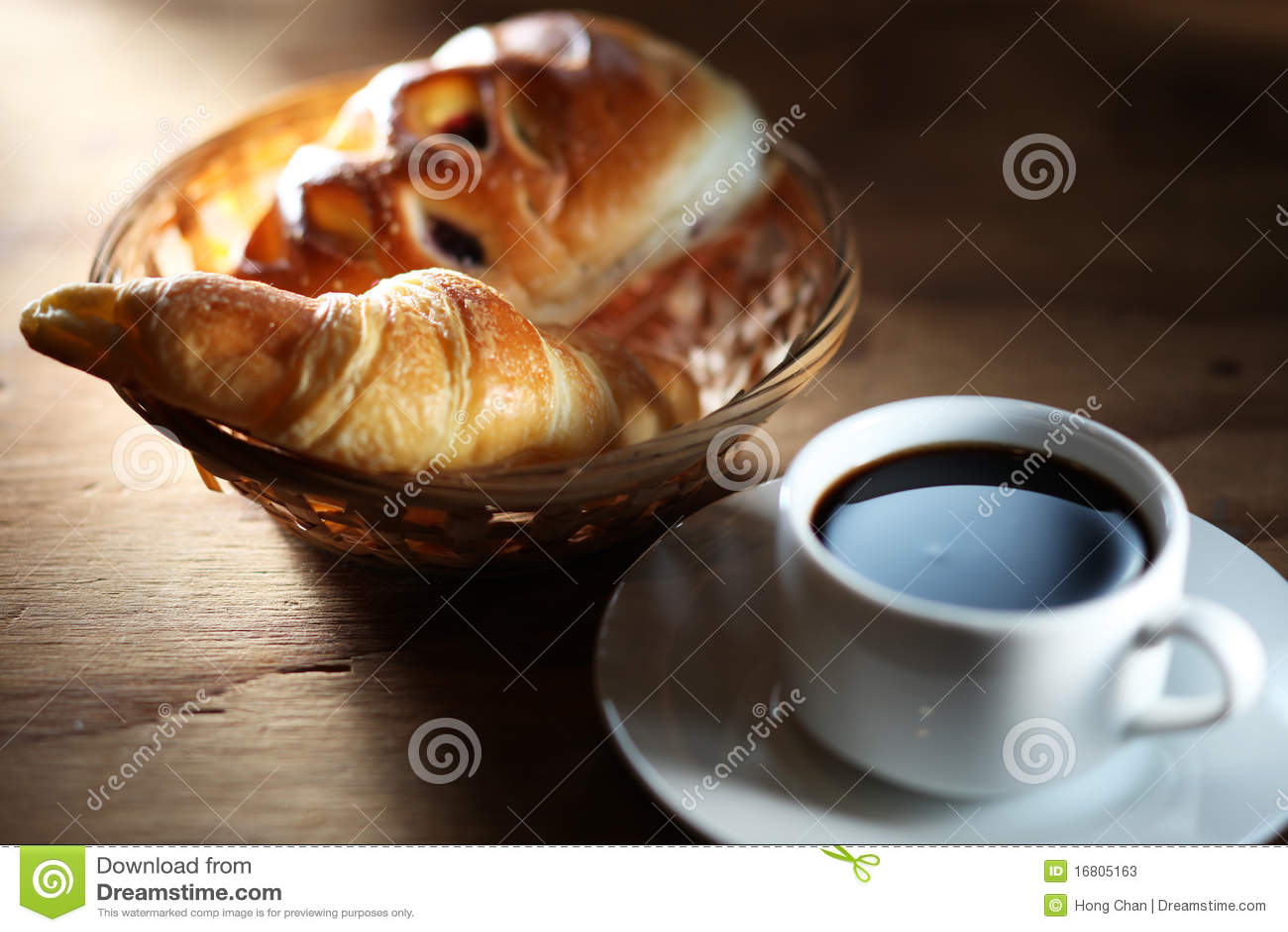 Koffie en broodje