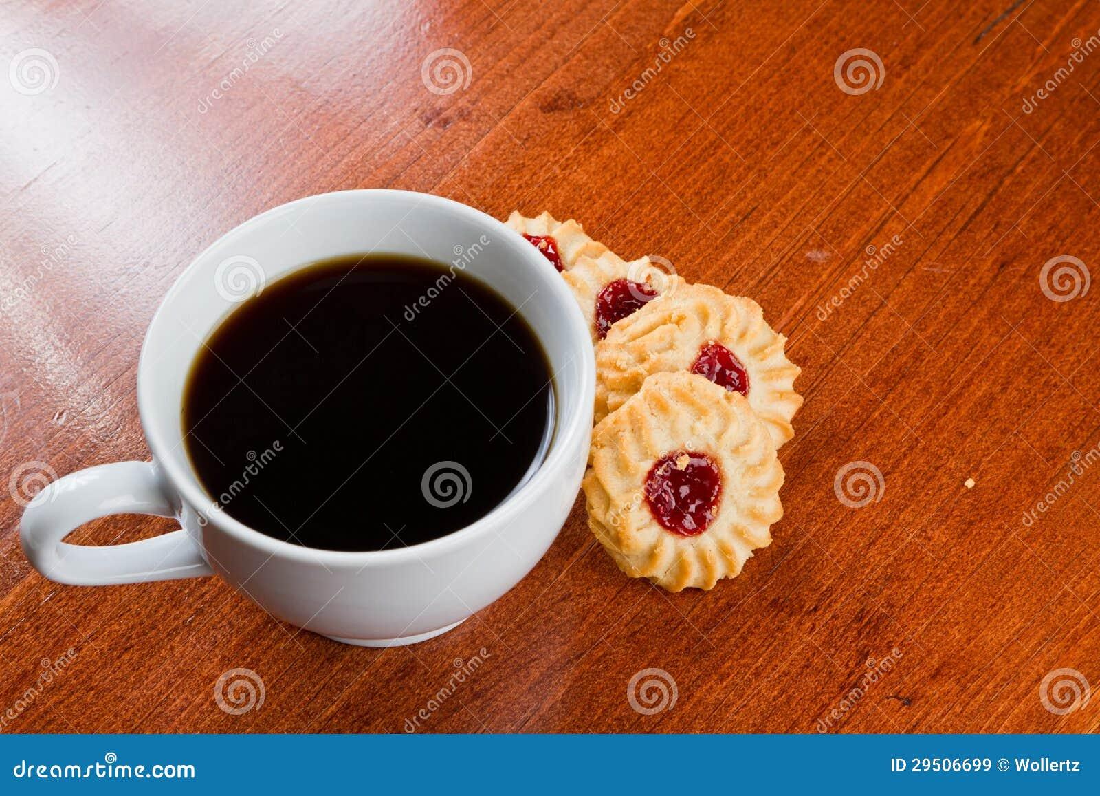 Koffie en koekjes