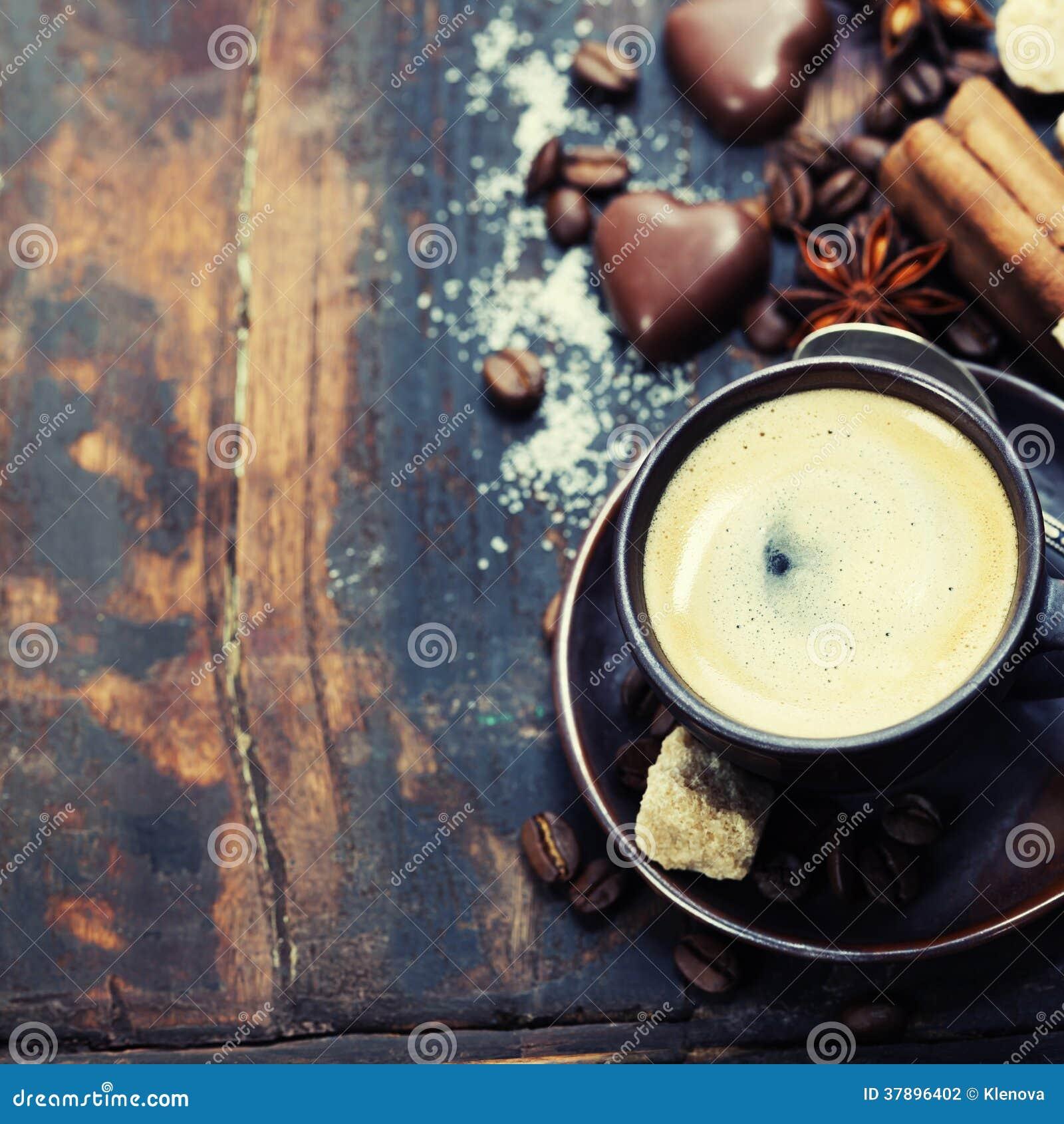 Koffie en kruiden
