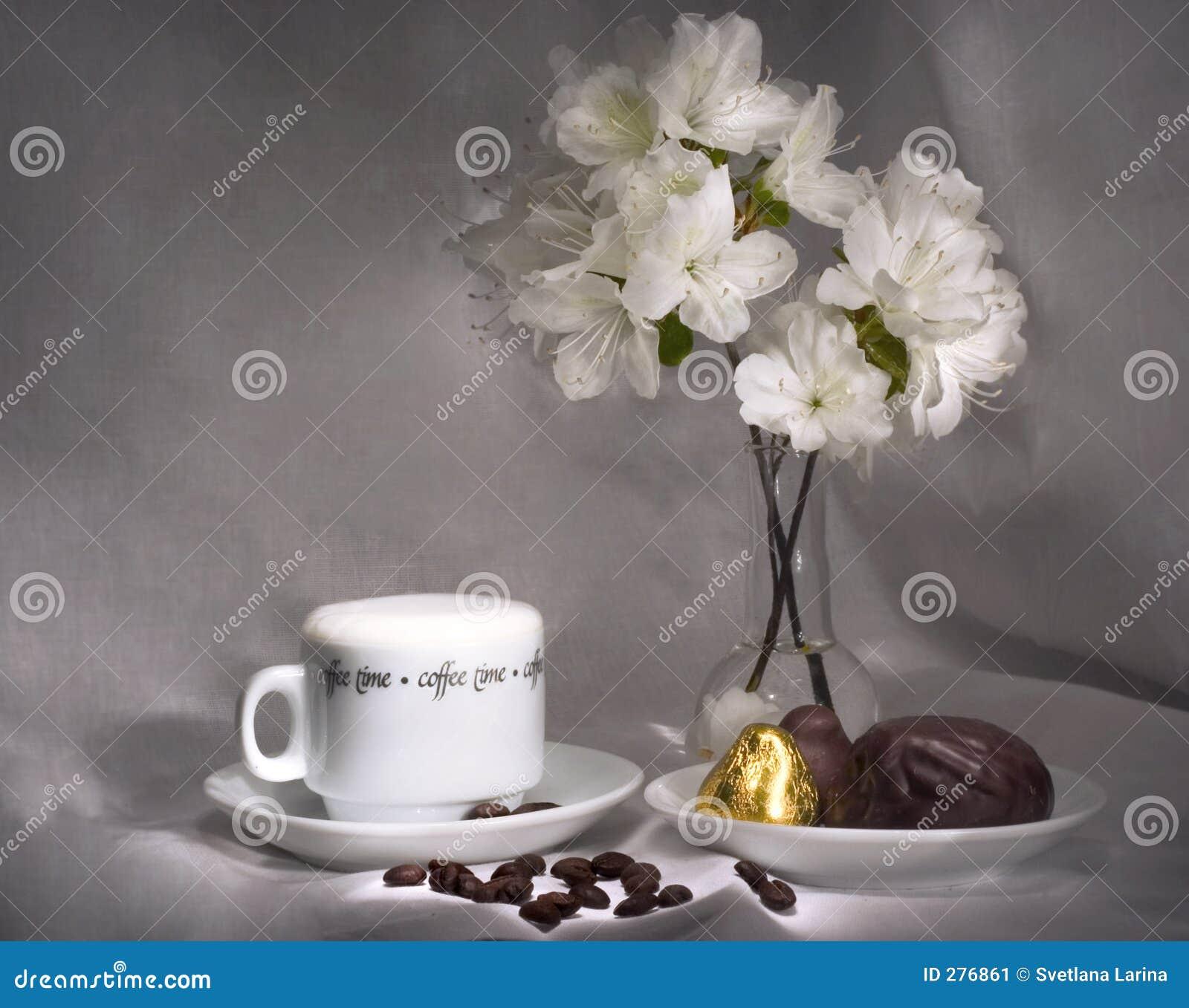 Koffie en snoepjes (eenvoudige ontbijtreeks)
