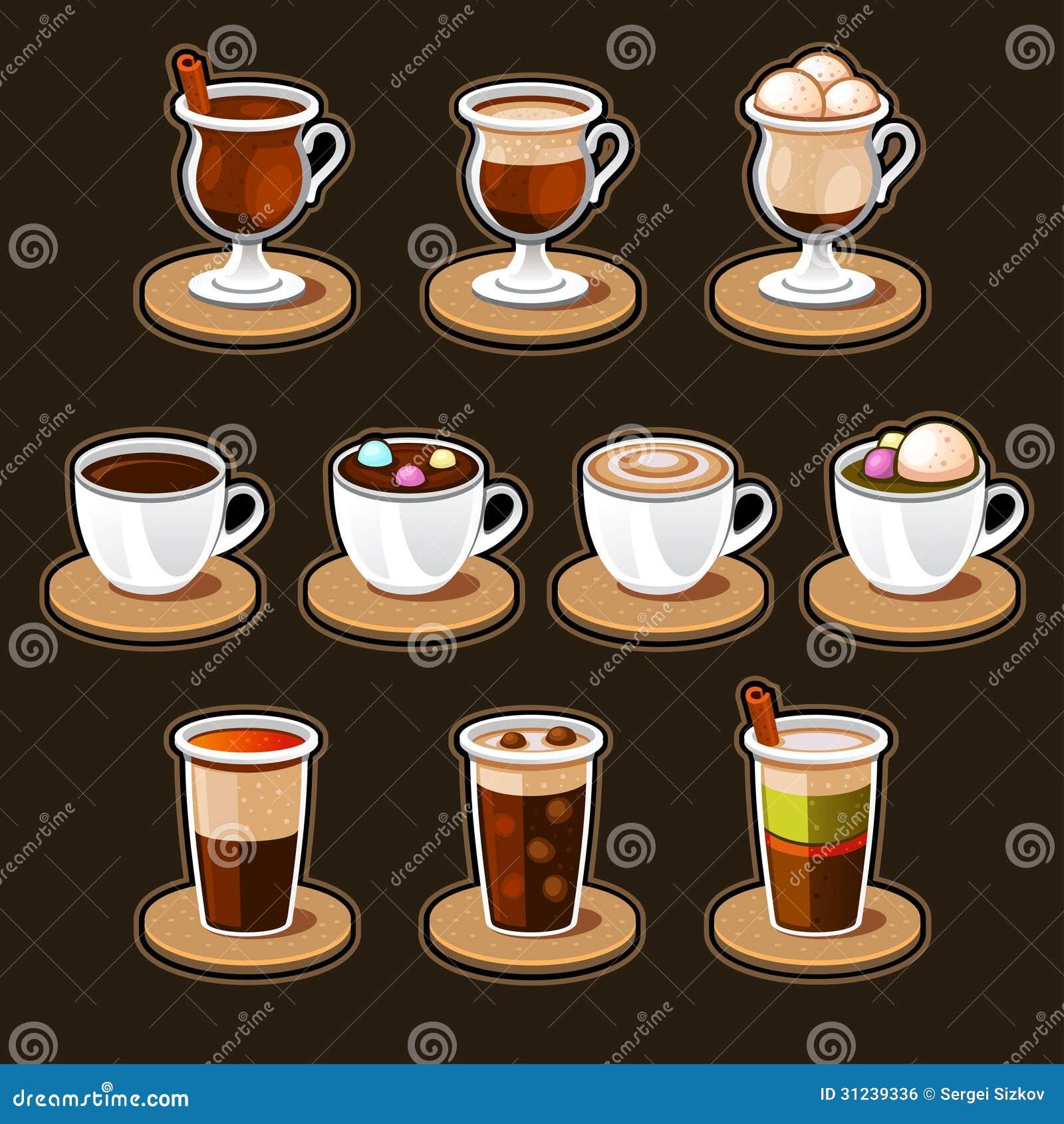 Koffie en theekopreeks.