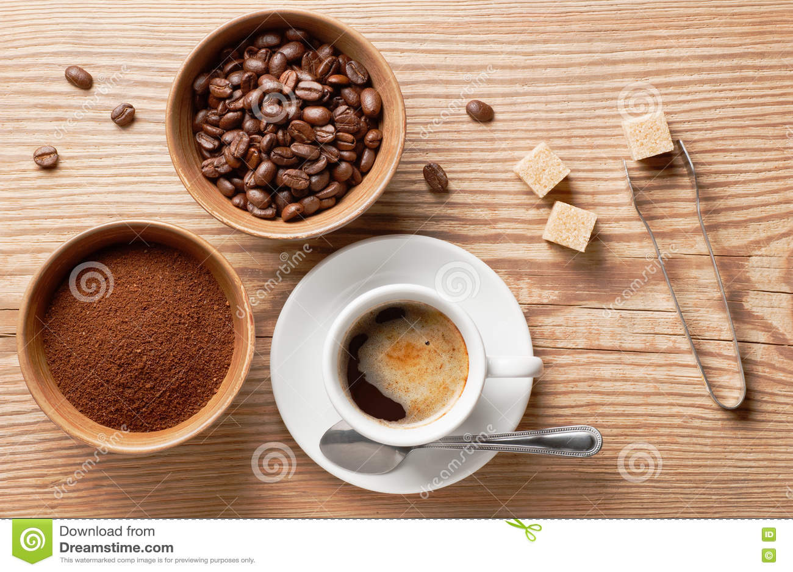 ingredienten koffie