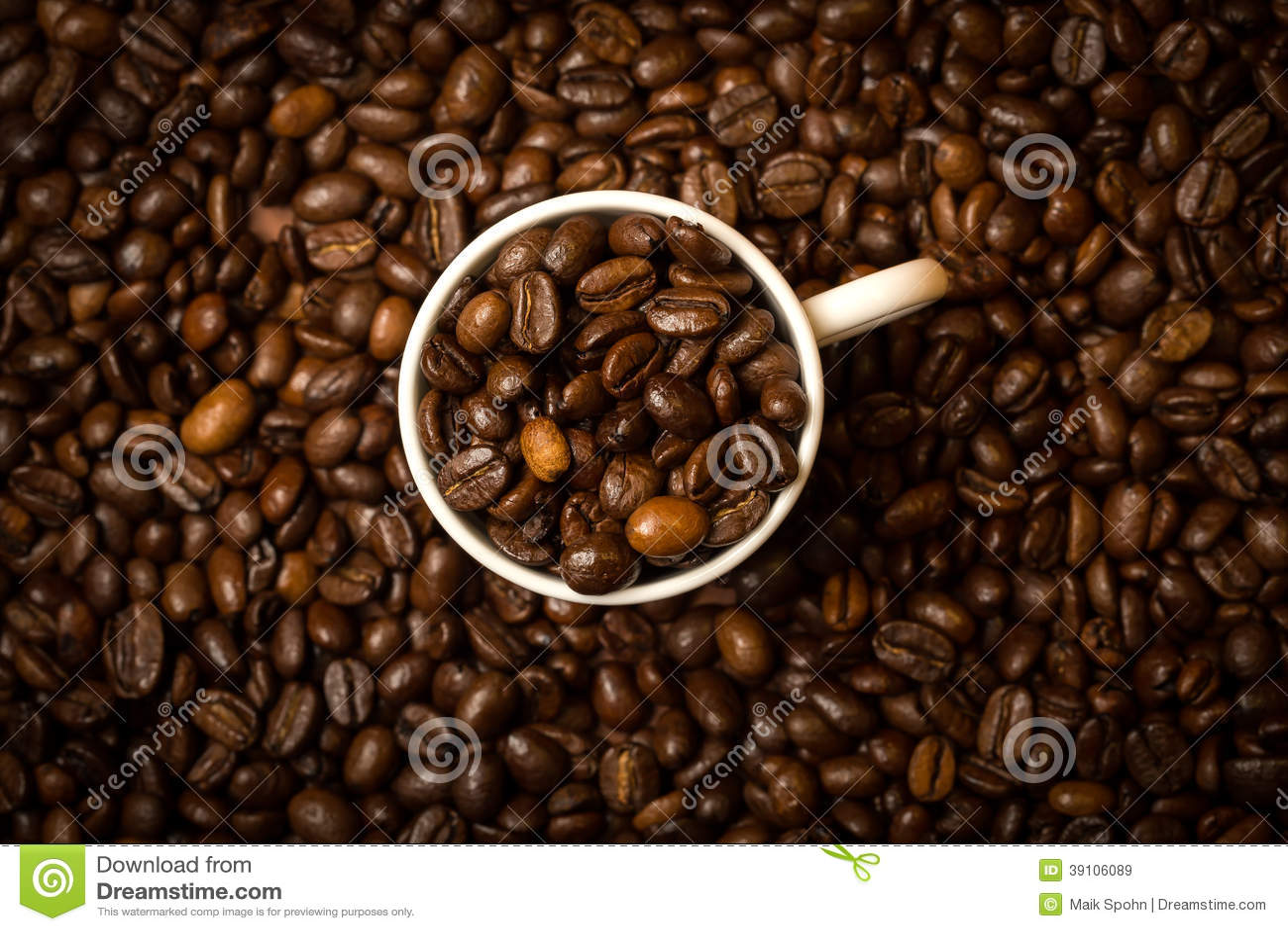 Koffiekop en Bonen