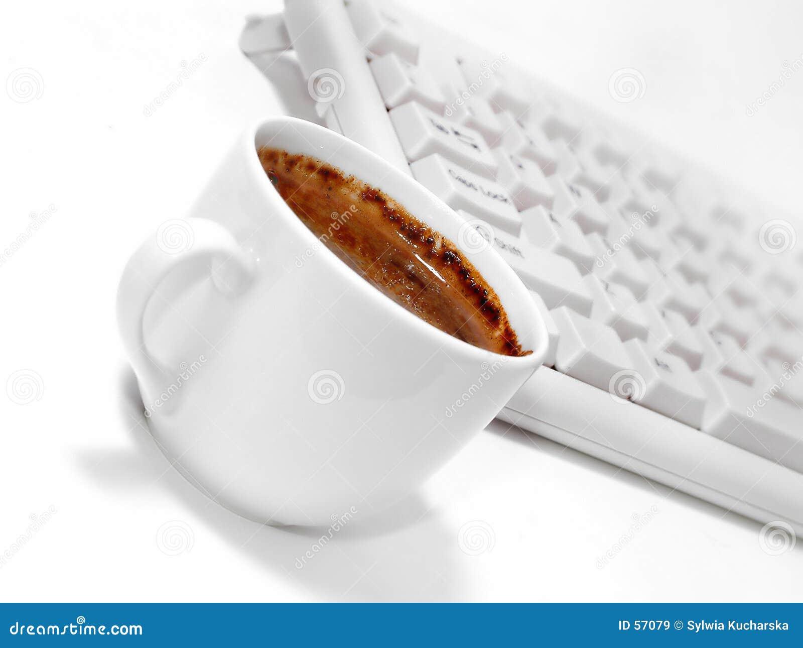 Koffiepauze royalty vrije stock afbeeldingen afbeelding 57079 - Secretaresse witte ...