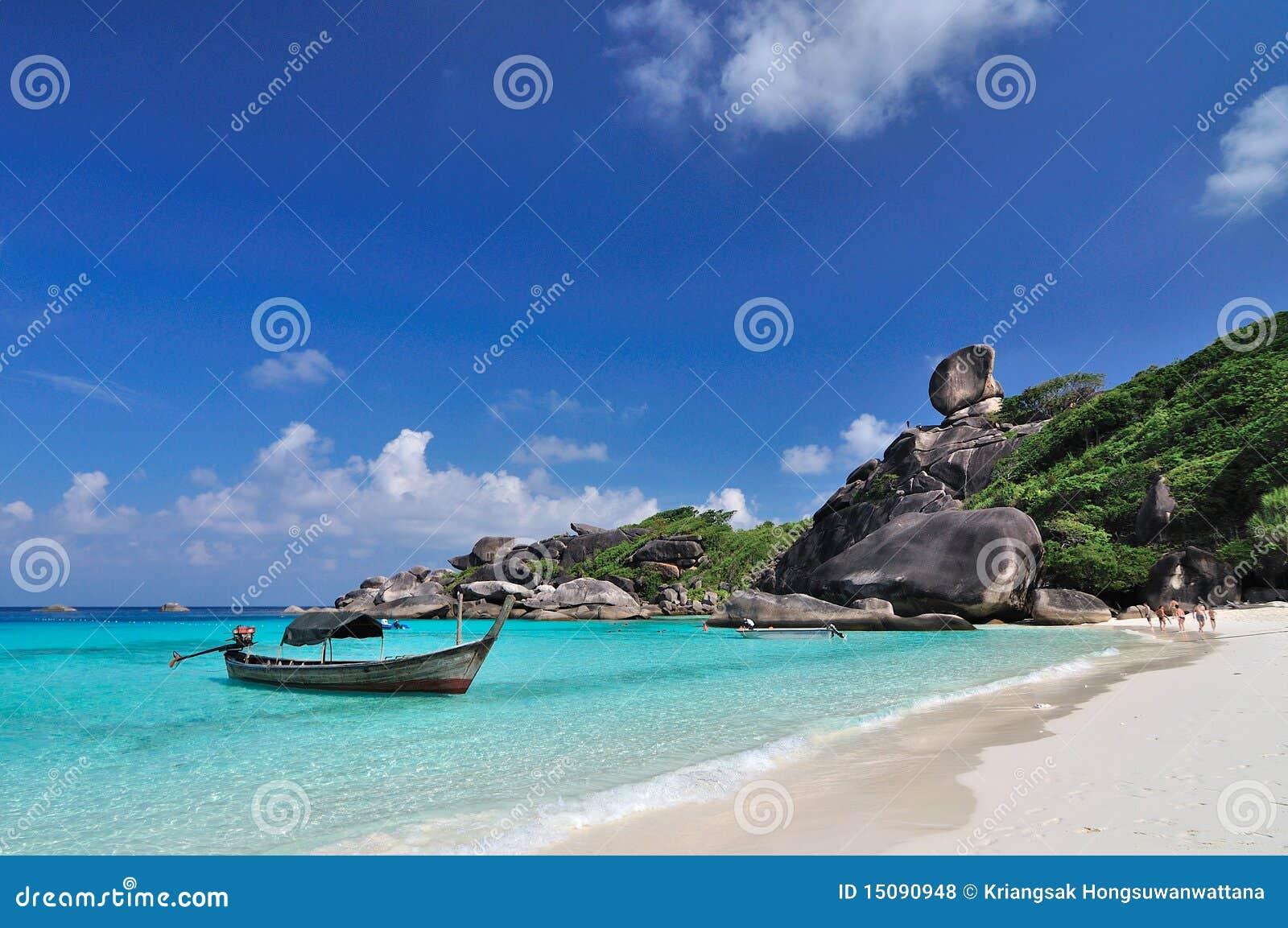 Koh 8, Similan Island, Phang-nga, Thailand Royalty Free Stock Photos - Image:...