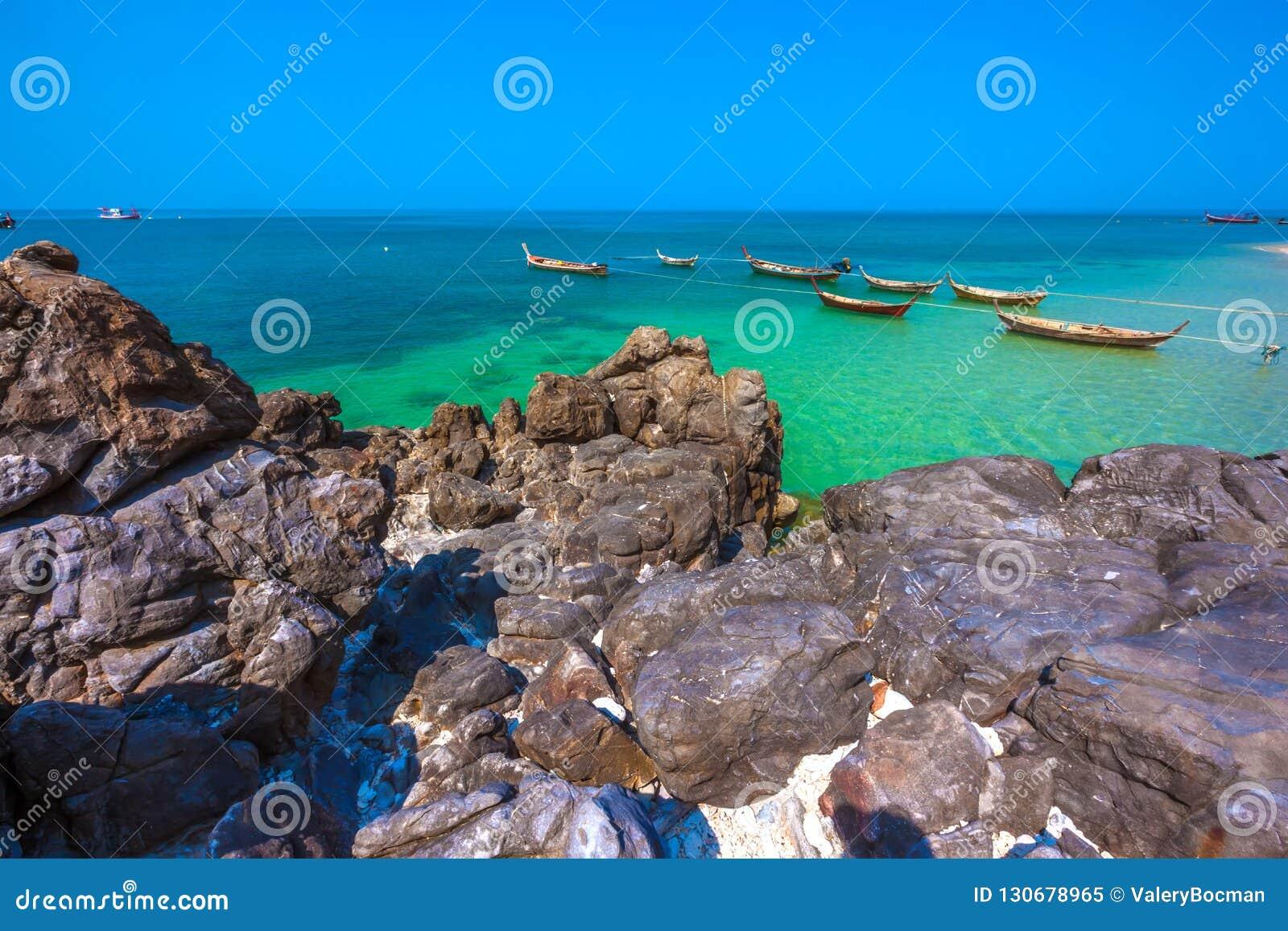 Koh Lanta island coast, Krabi, Thailand.