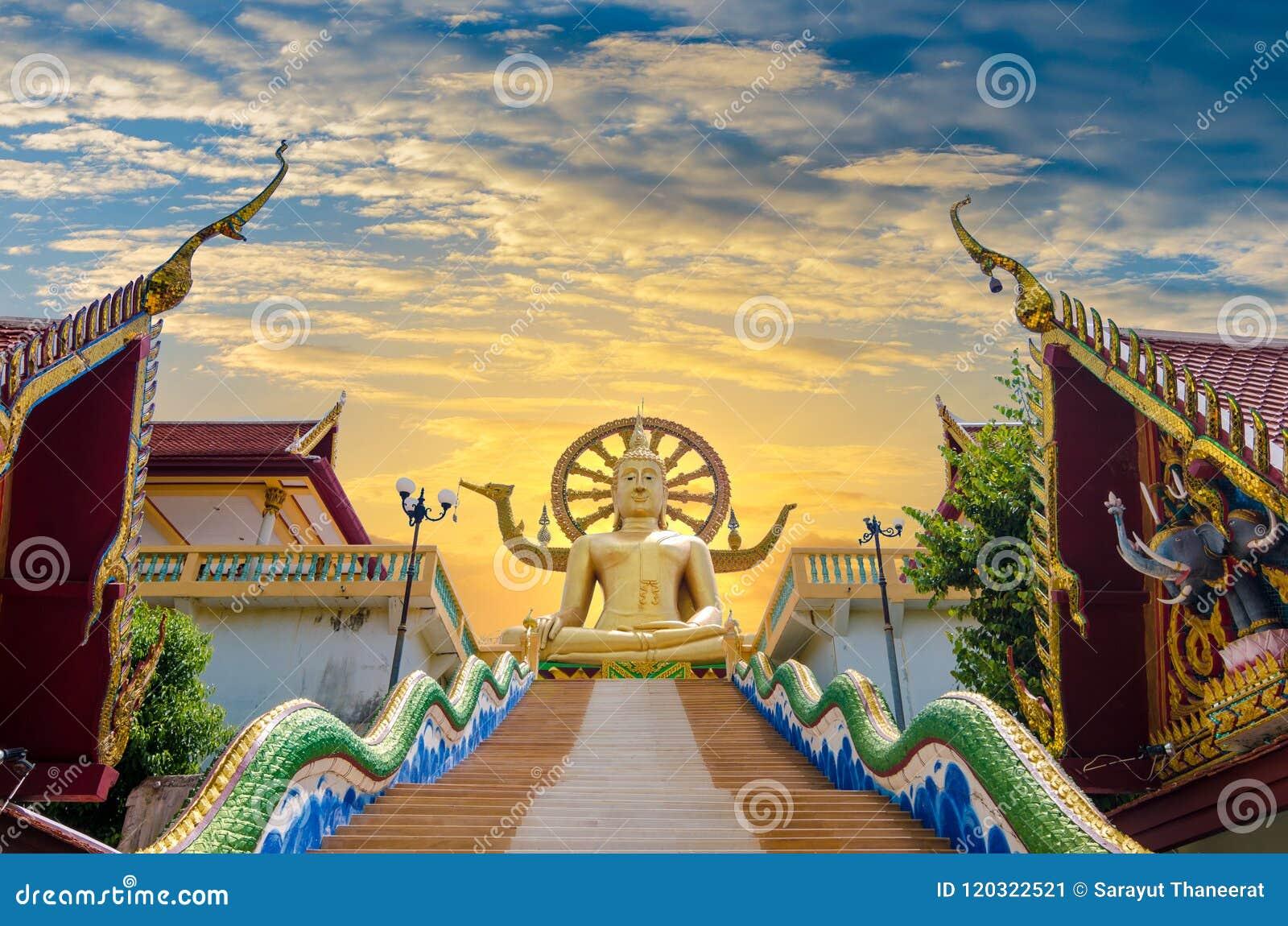 Koh Samui Surat Thani Таиланд Wat Phra Yai