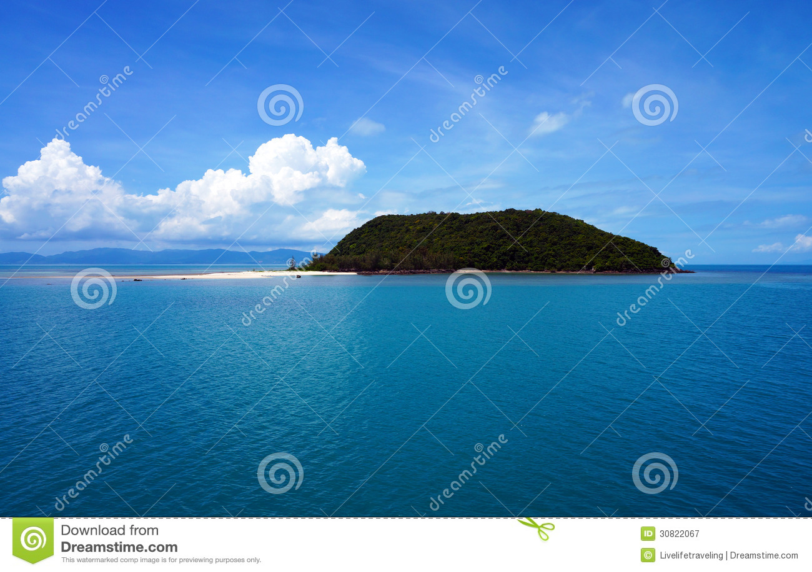 koh tae nai island royalty free stock photography