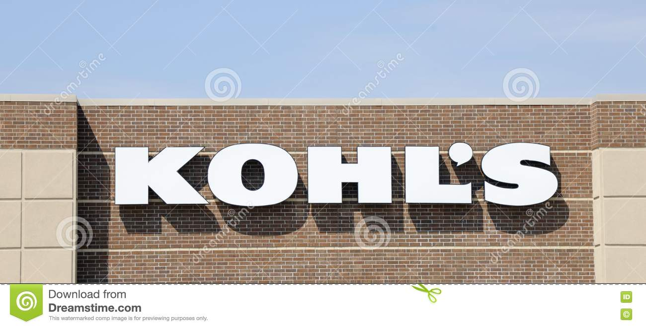 23f3e2cb56a Kohl s Department Store Sign Editorial Photography - Image of ...