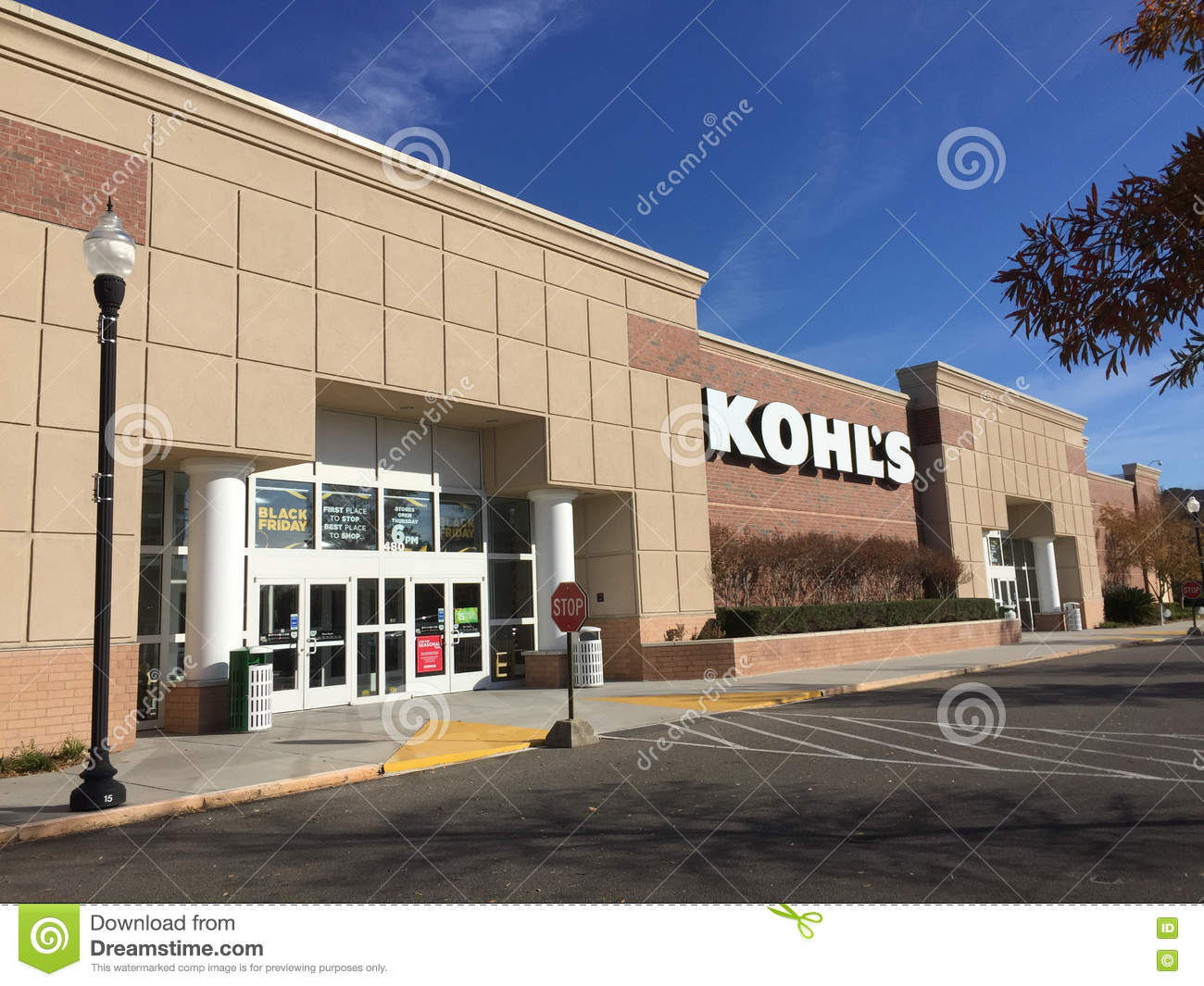Car Dealerships In Summerville Sc >> Kohl S Department Store Editorial Image Image Of Present