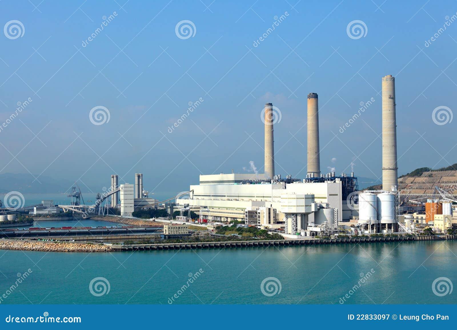 Kohle abgefeuerte Station des elektrischen Stroms