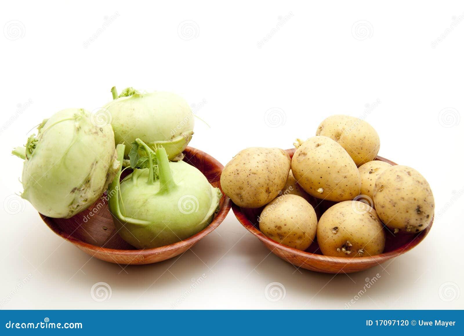 Kohlrabi mit Kartoffel