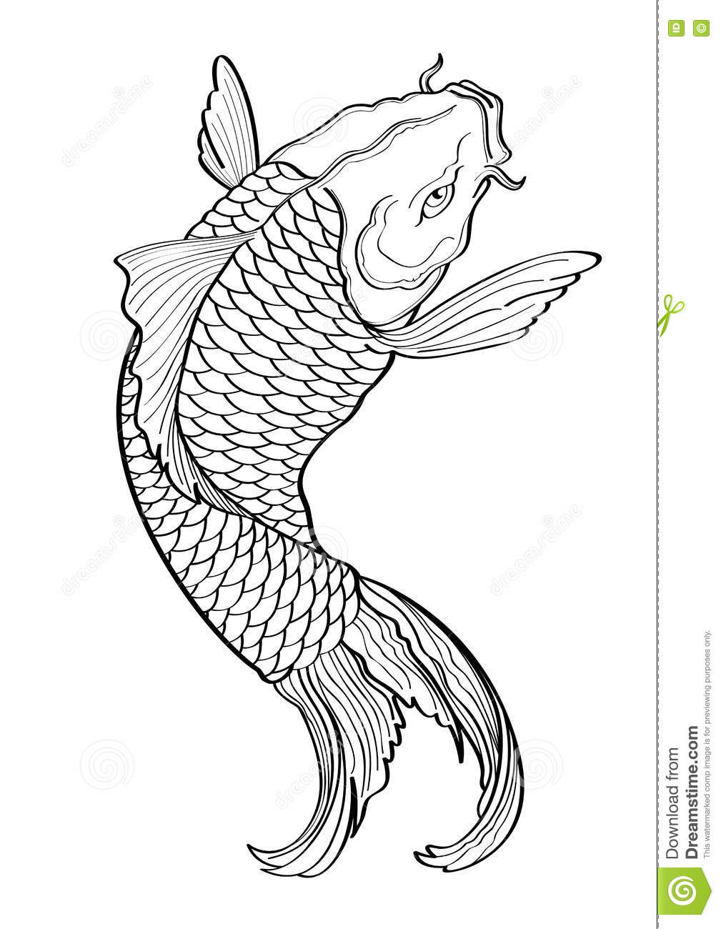 Free Japanese Koi Fish Tattoo Designs