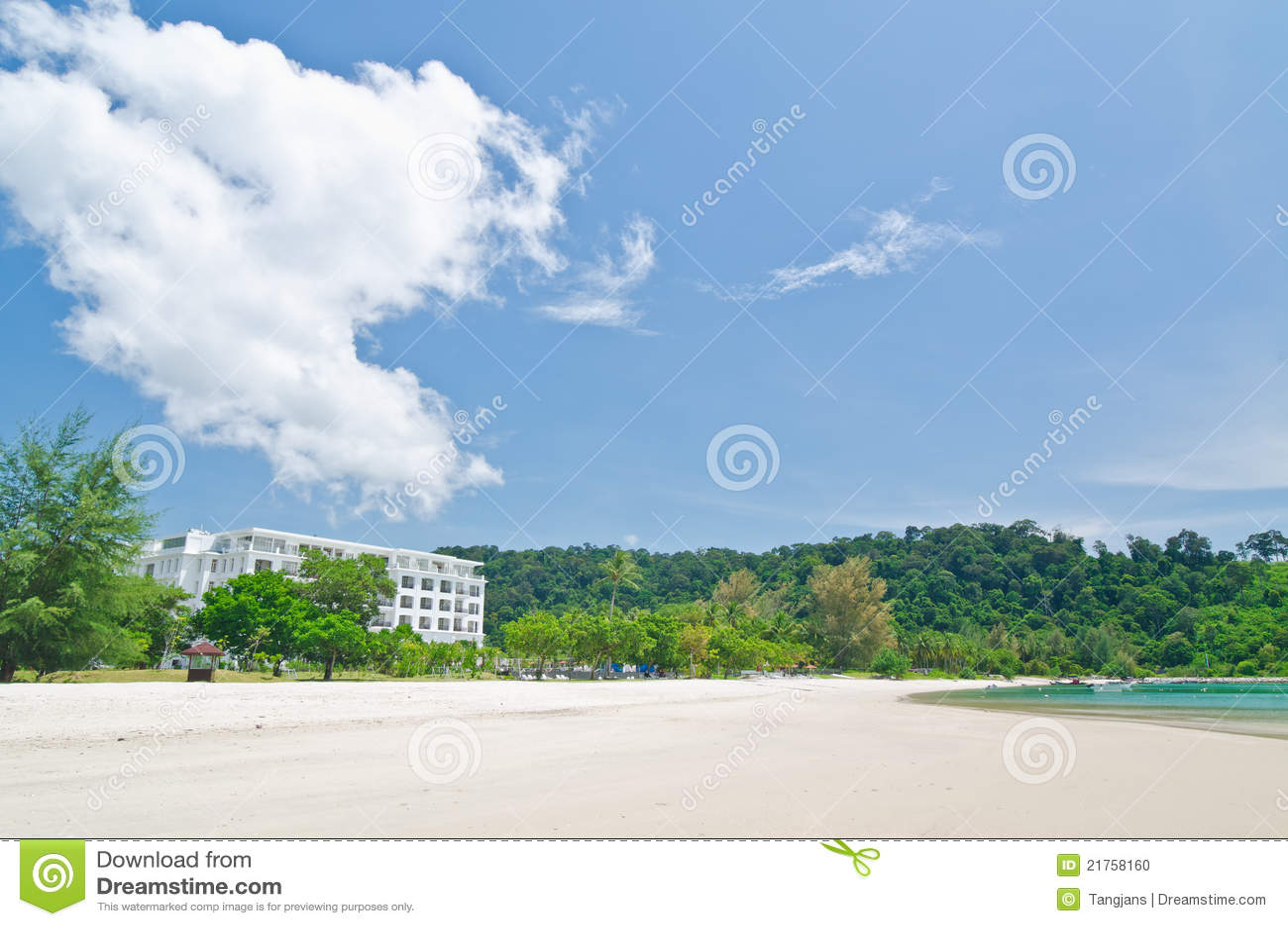 Kok Langkawi Malaysia pantai