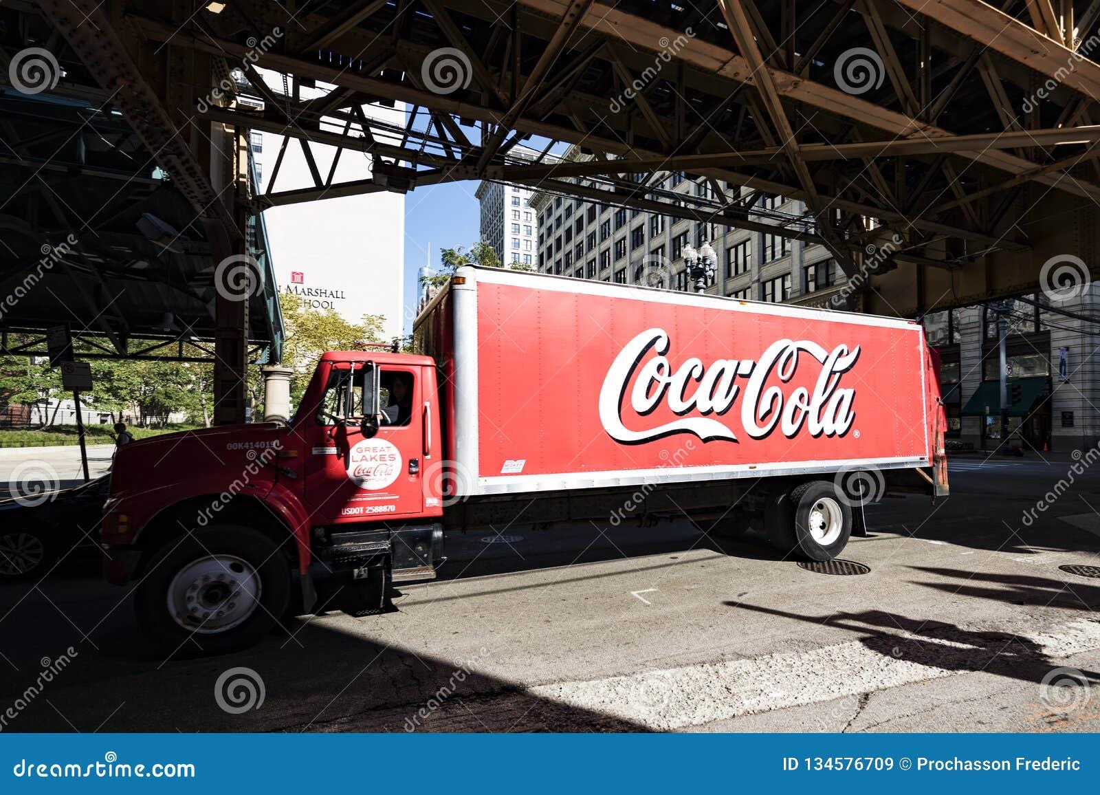 Koka-koli ciężarówka