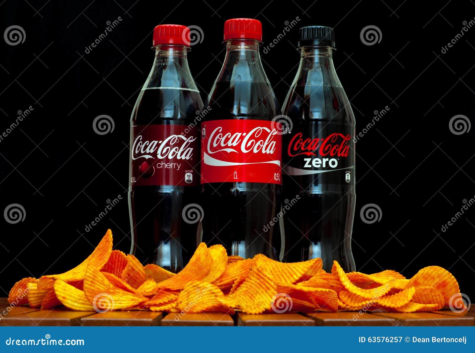 Koka-koli Zero i wiśnia