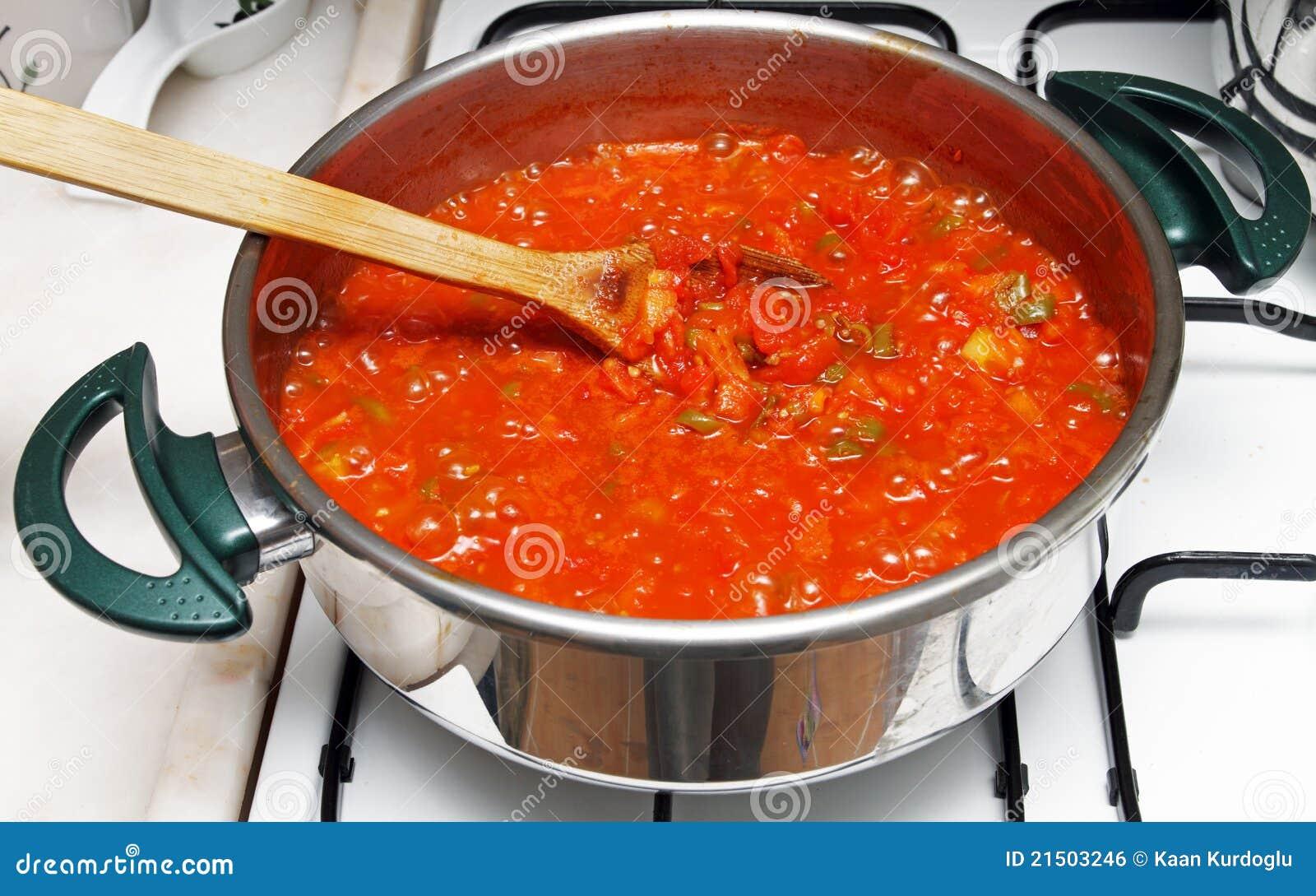 Kokende maaltijd