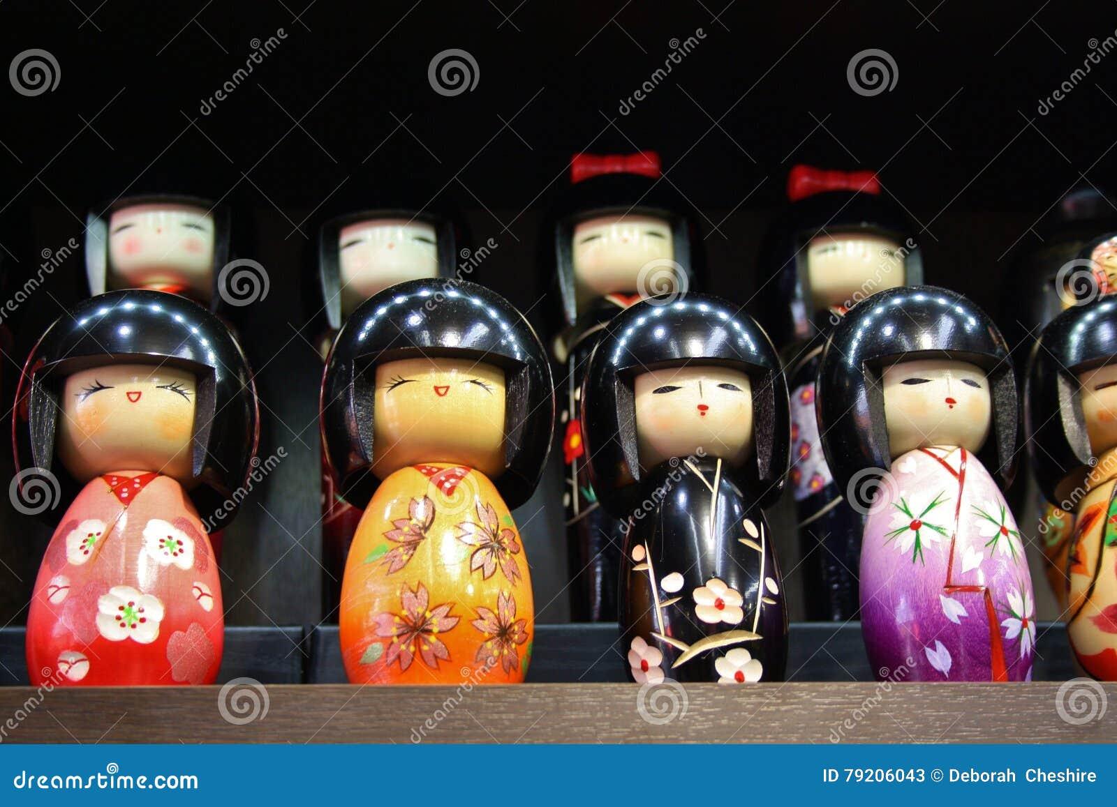 Kokeshi dockor
