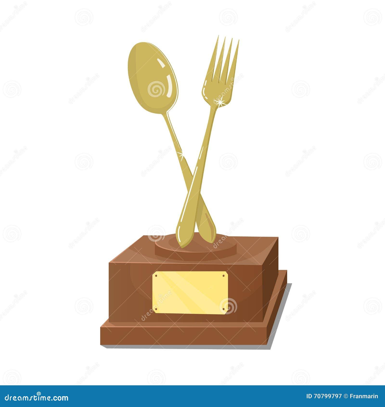 Kokkonst för första pris Guld- trofé