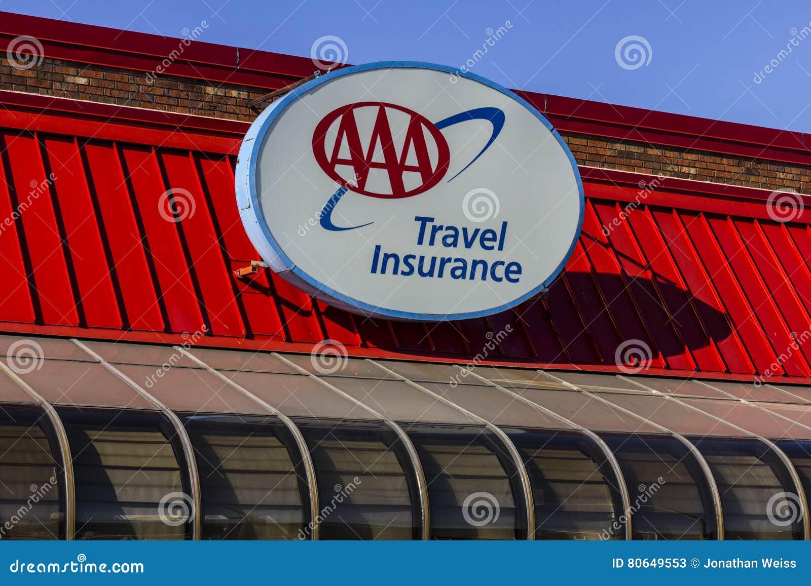 Kokomo - Circa November 2016:AAA Travel & Insurance Sign