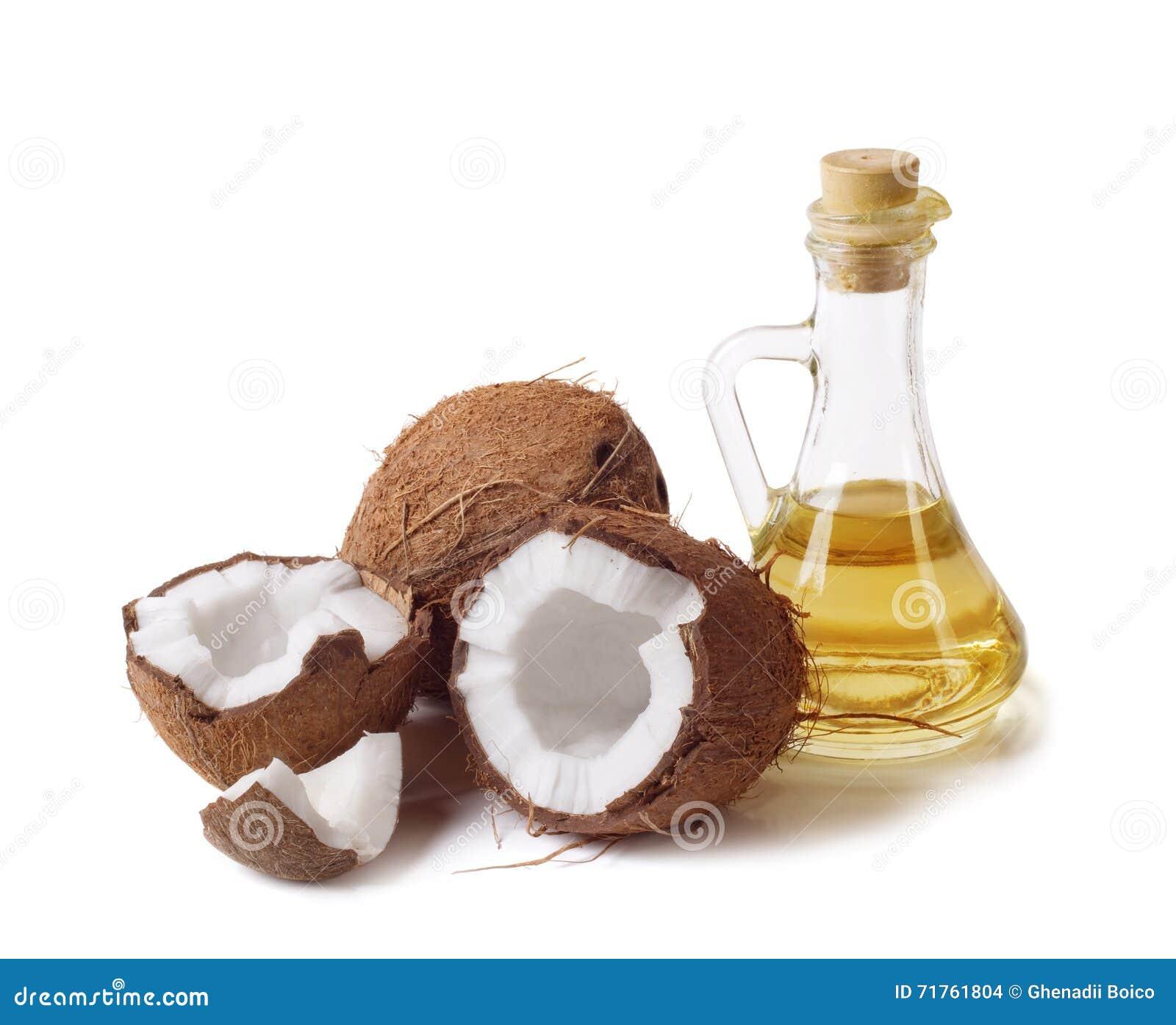 Kokosnoot en olie