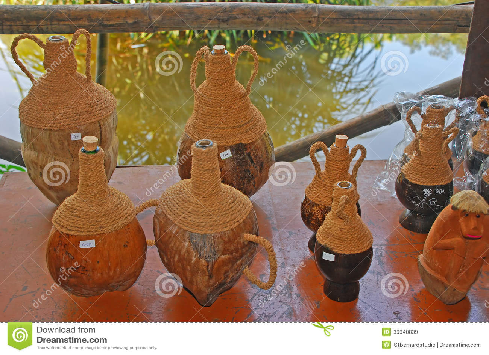Kokosnoot Shell Souvenir