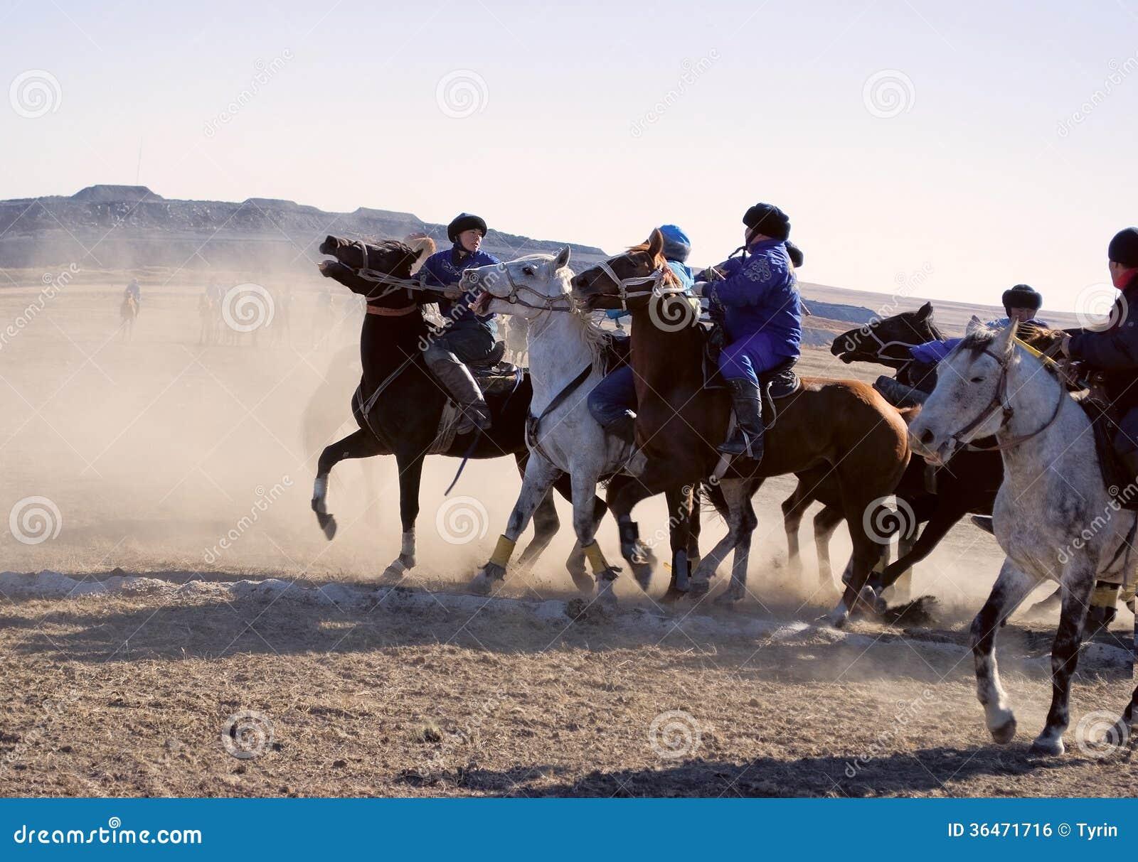 Kokpar - jogo do cavalo.
