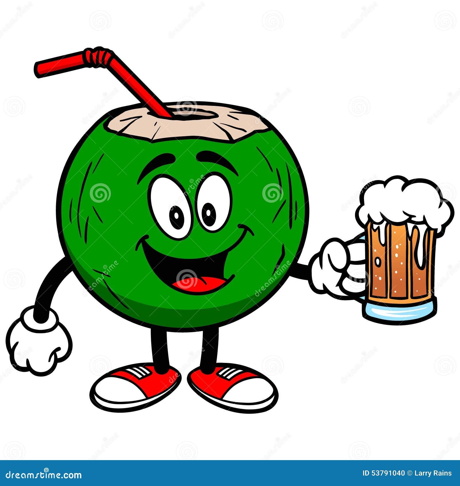 Koks woda z piwem