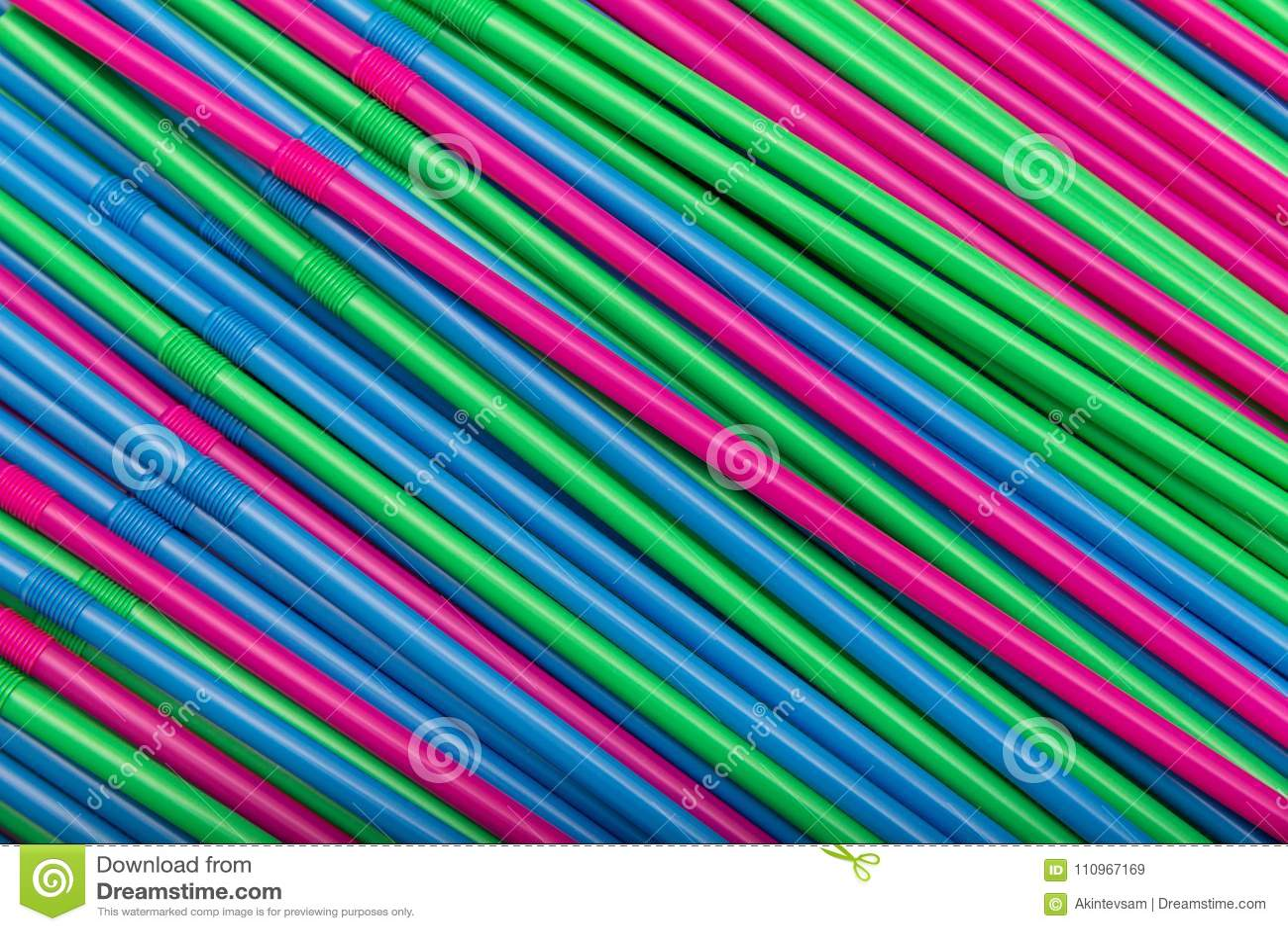 Koktajl słoma abstrakcjonistyczny tło różni kolory