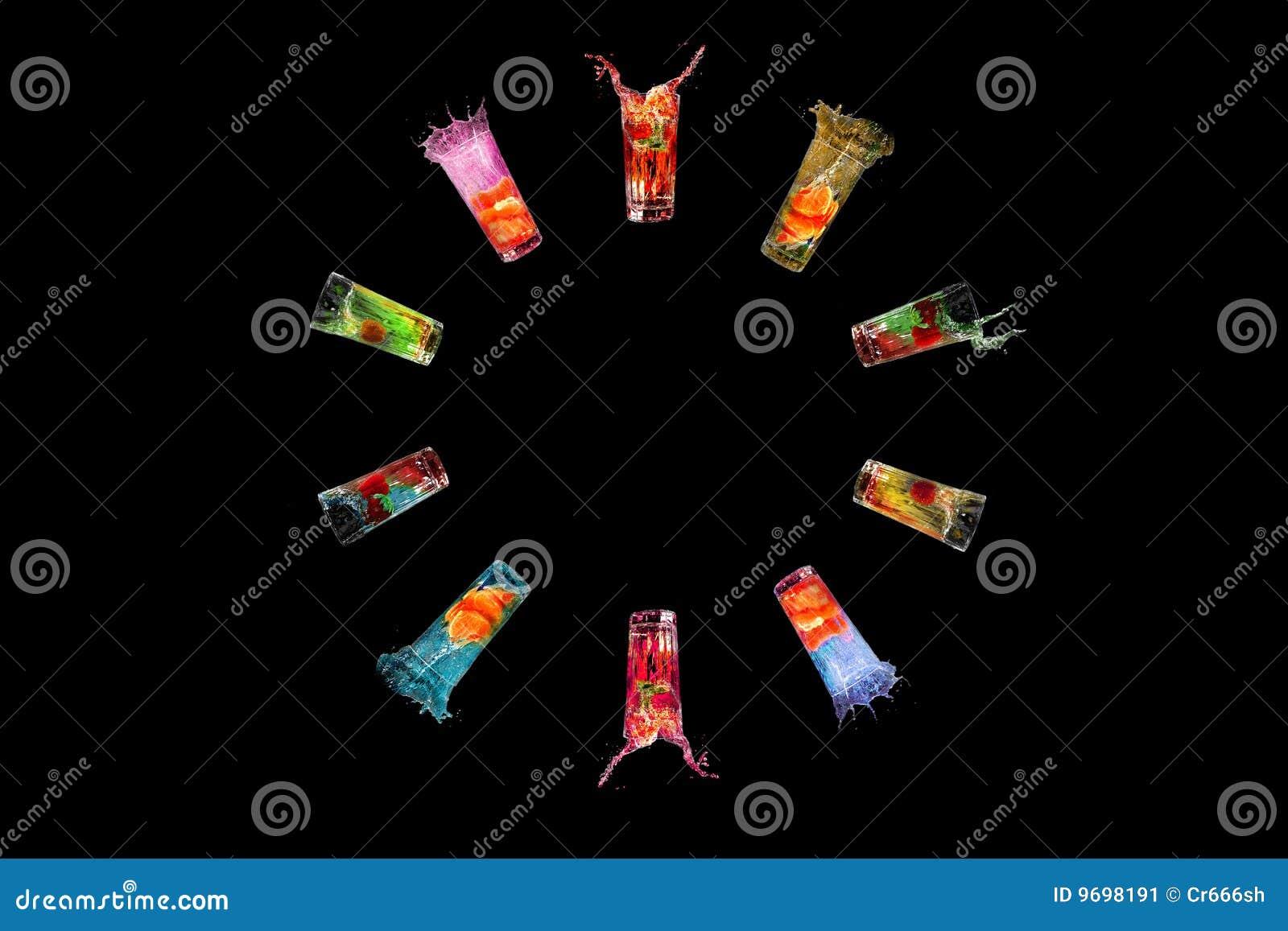 Koktajle kolorowi