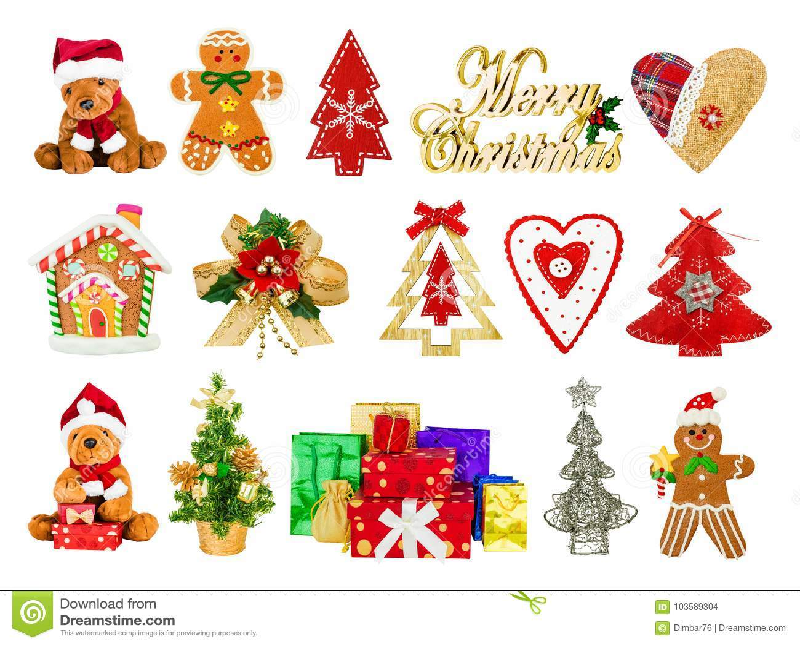 Kolaż świąteczni Bożenarodzeniowi symbole