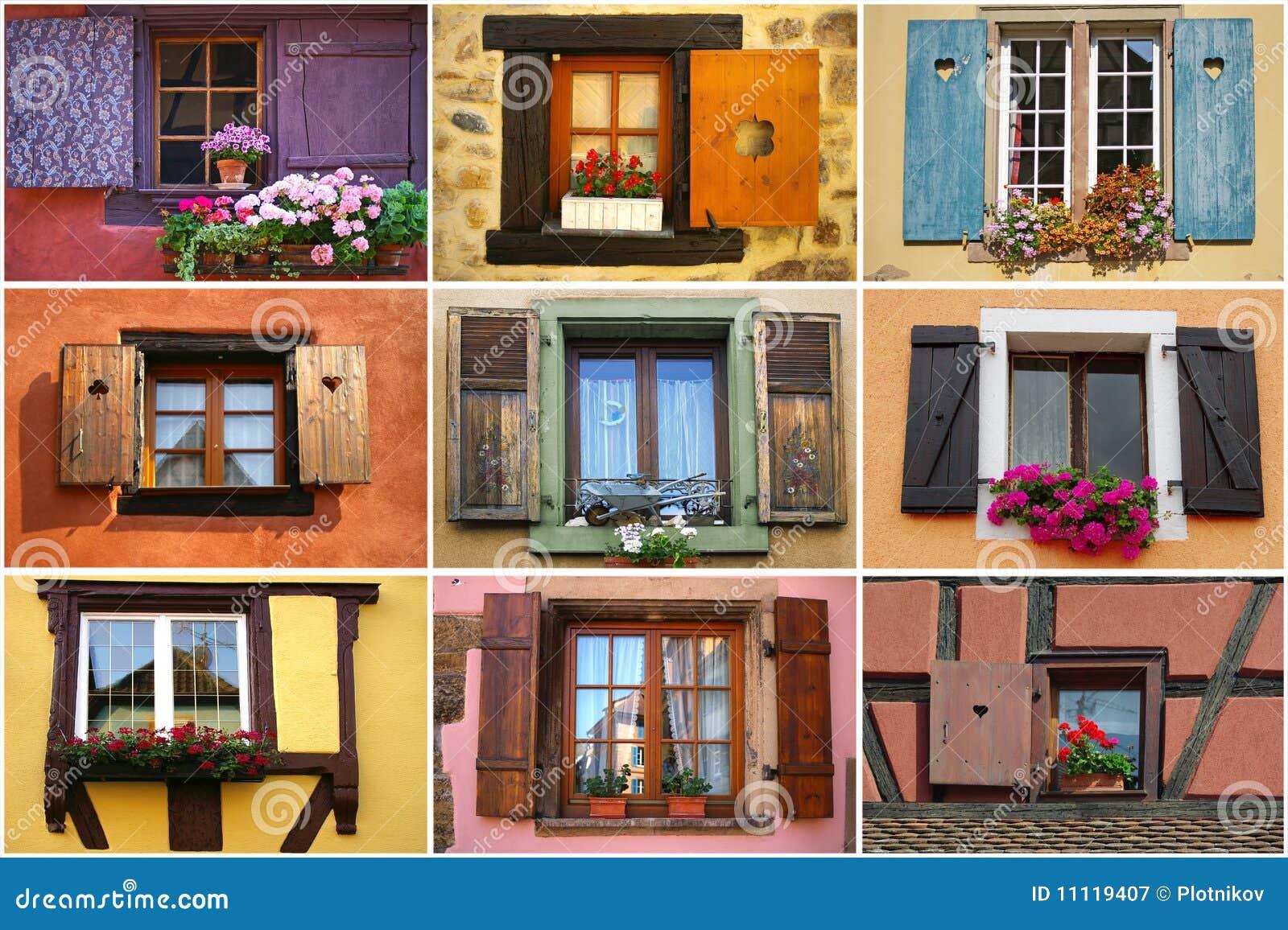 Kolaży okno